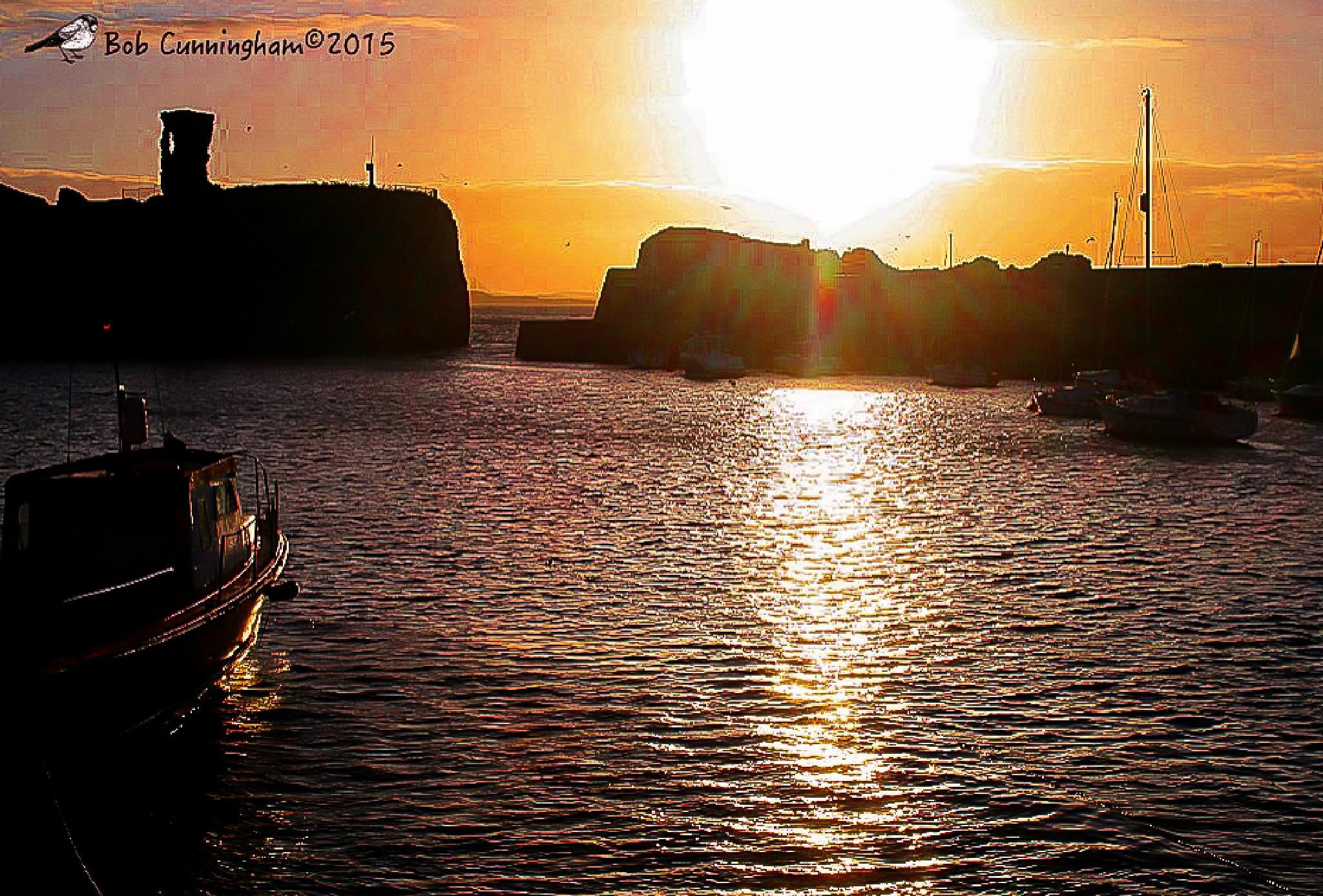 Dunbar Victoria Harbour at Sunset by bob.cunningham.56884