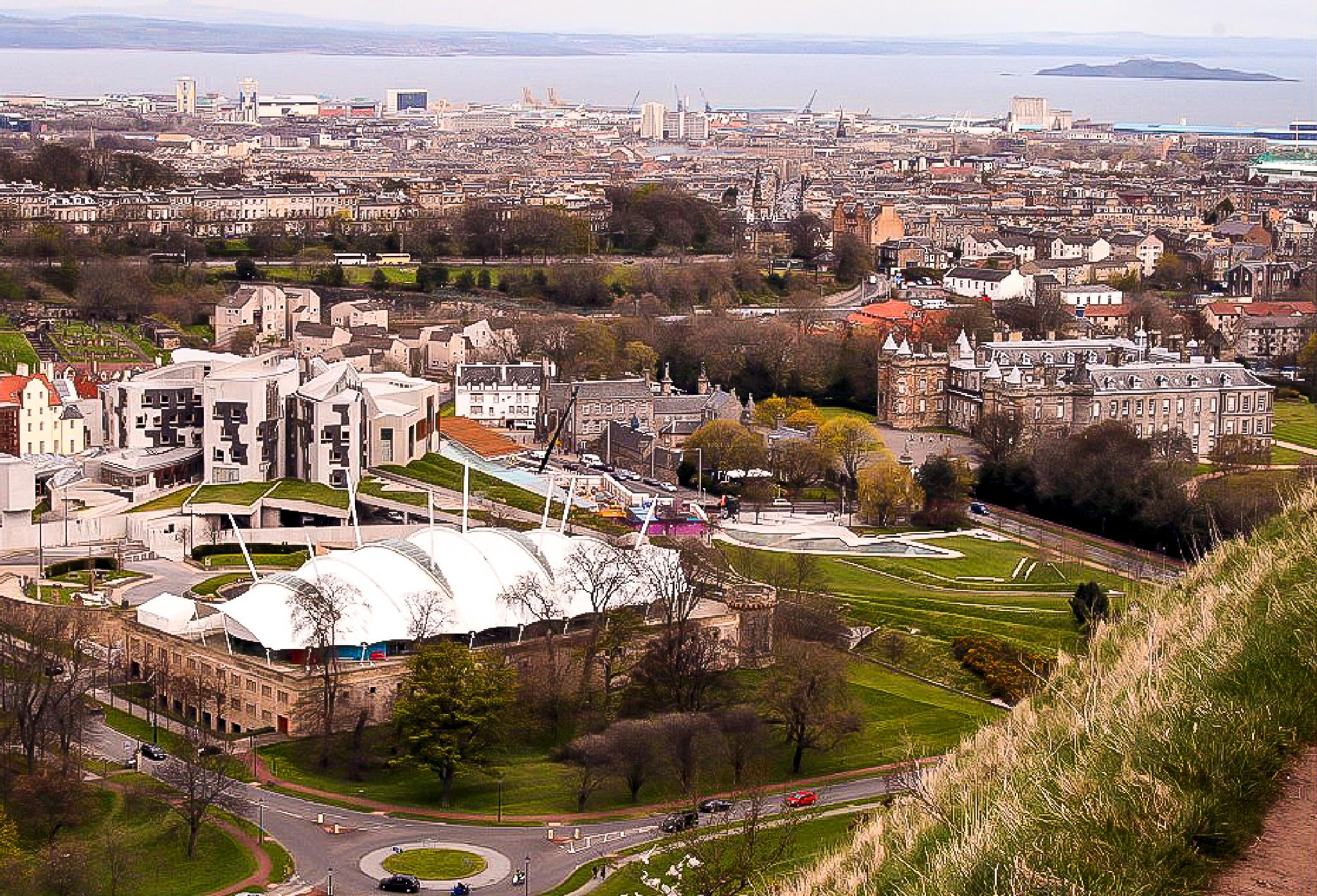 A view from Salisbury Crags - Edinburgh by bob.cunningham.56884