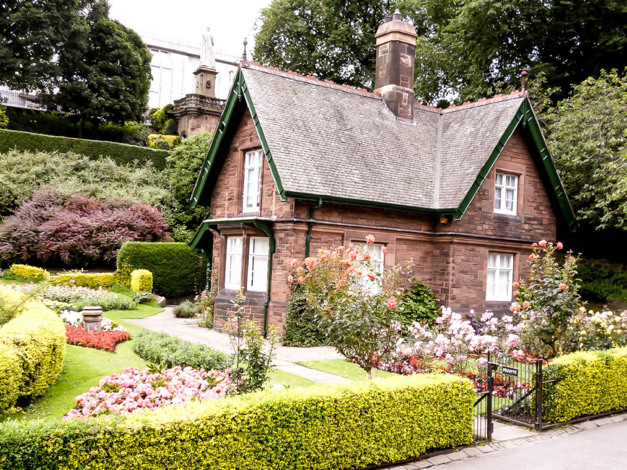 Ground Keepers Cottage, Princes Street Gardens, Edinburgh by bob.cunningham.56884