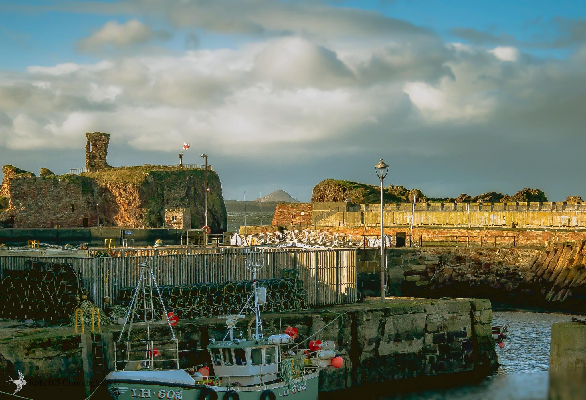 Dunbar Harbours by bob.cunningham.56884
