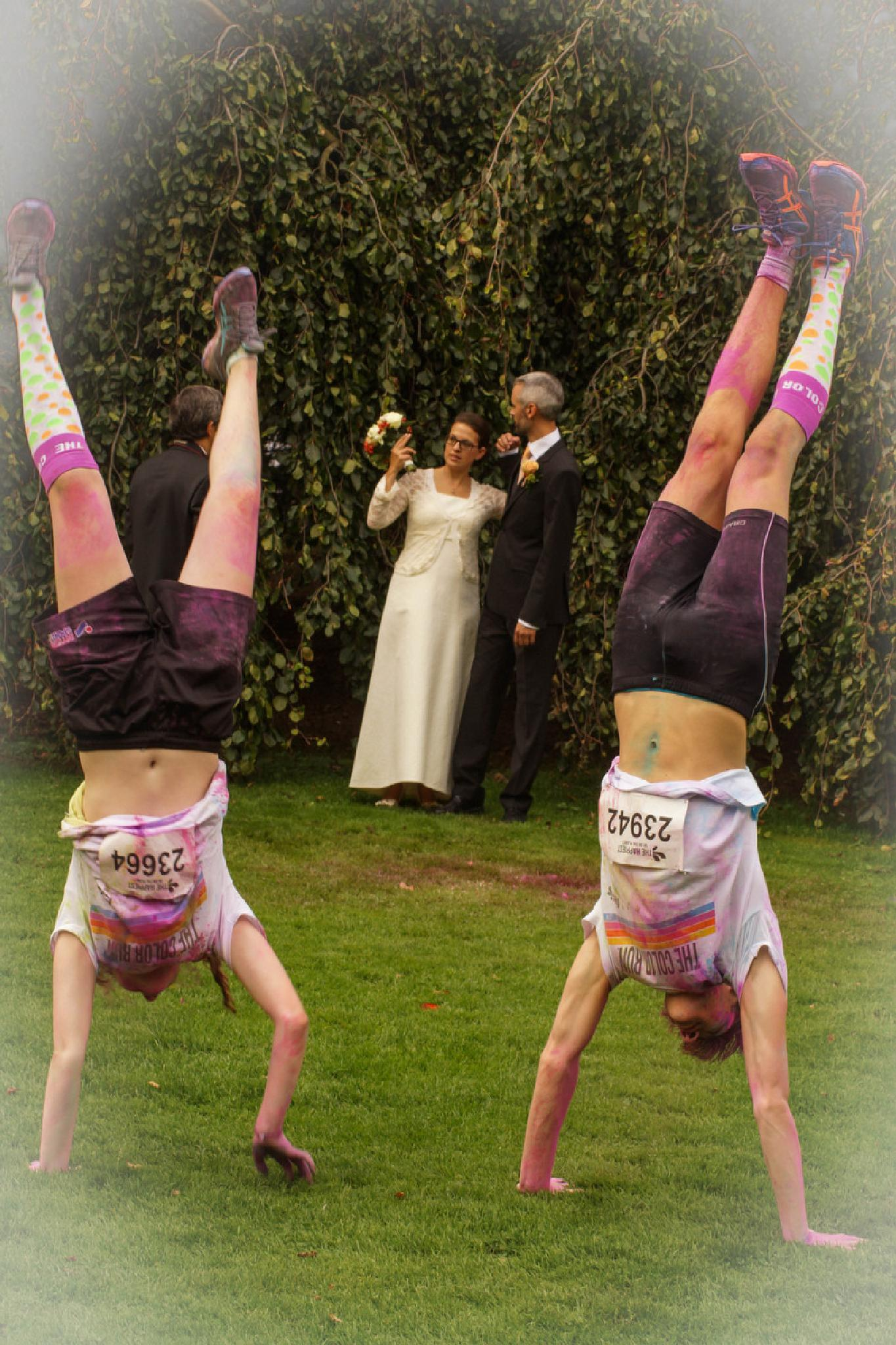 Different wedding photo ;-) by Jane.lindbladh