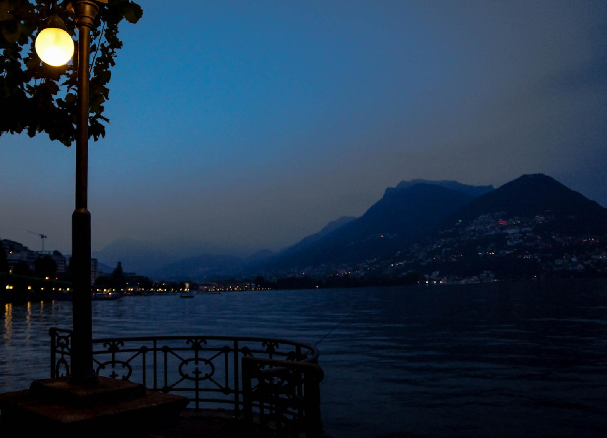 Night in Lugano by Jane.lindbladh