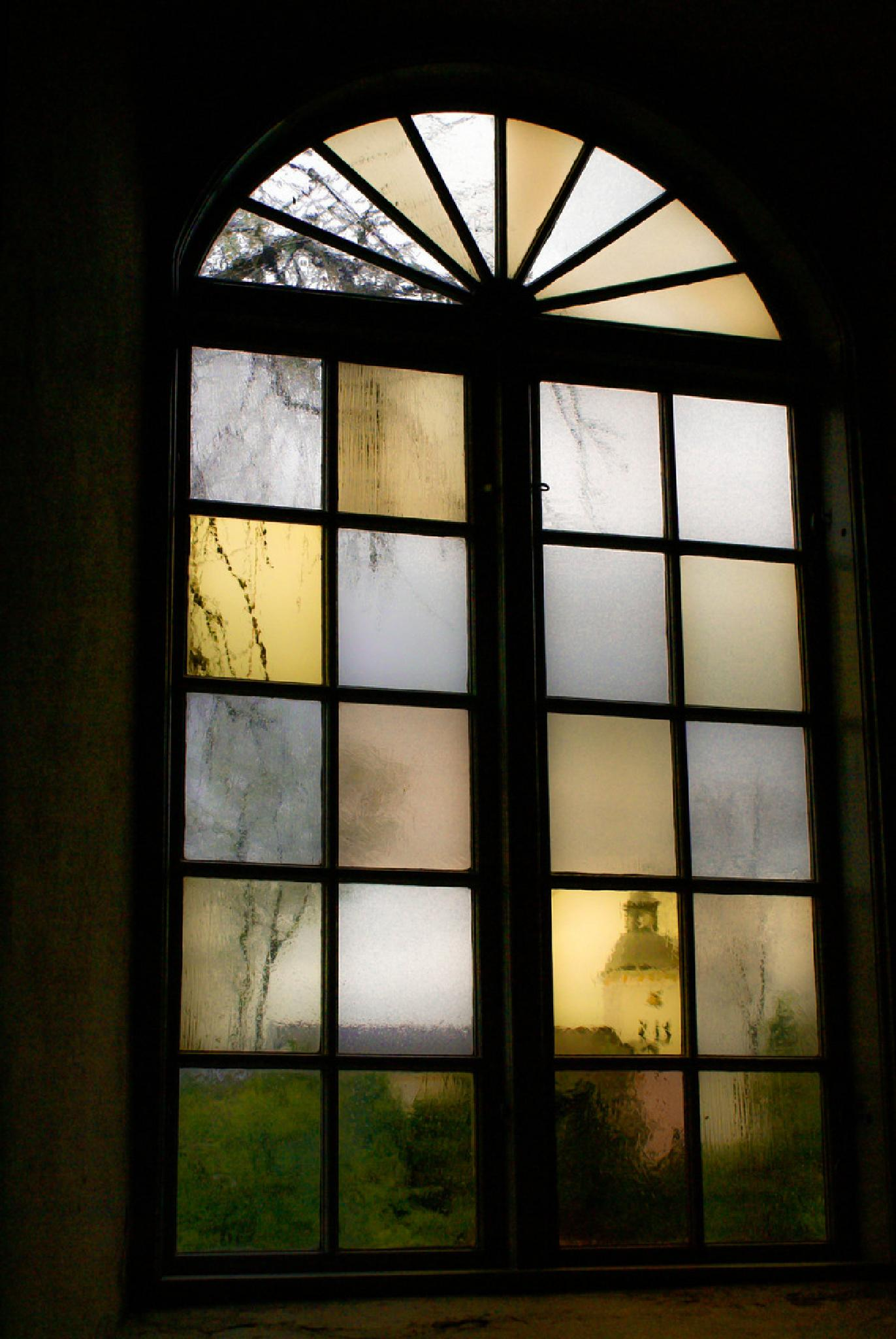 Colored window by Jane.lindbladh