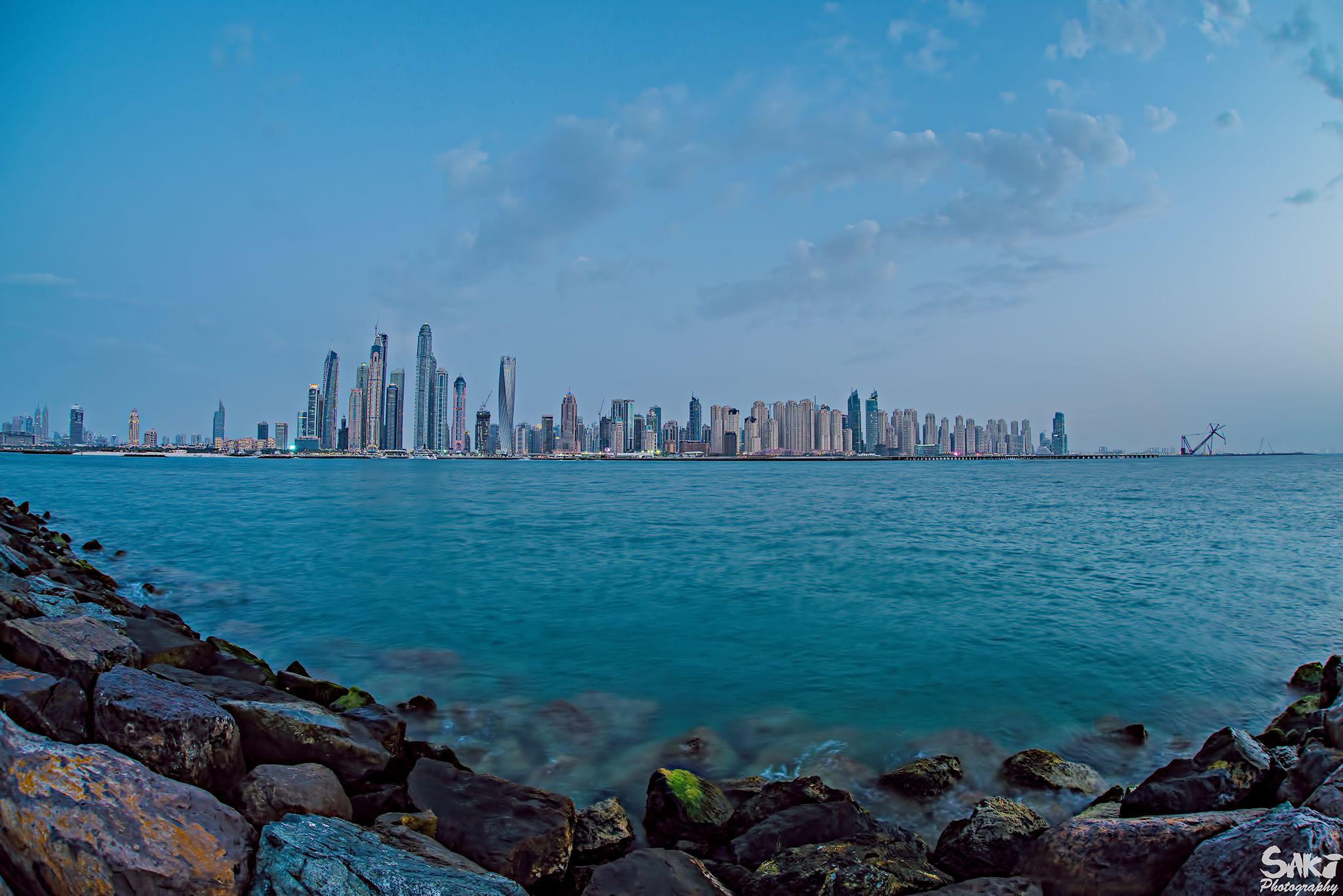 Dubai Marina by sakinaveed