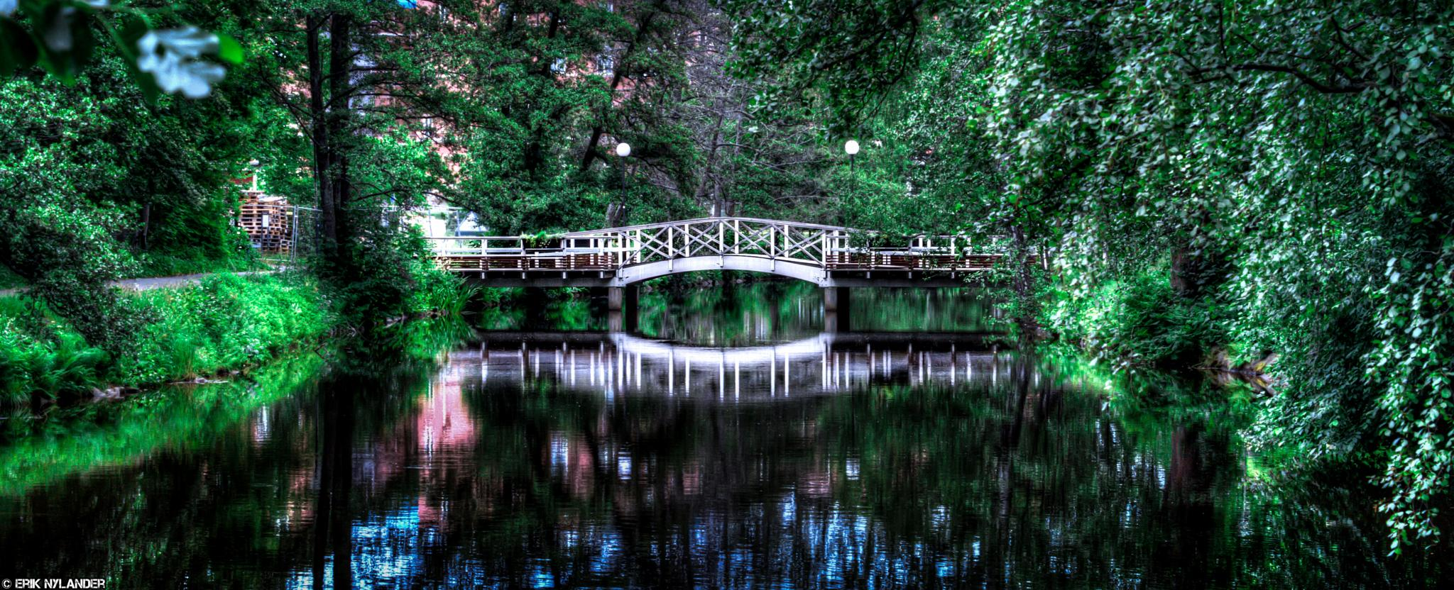 Reflection bridge by Erik Nylander