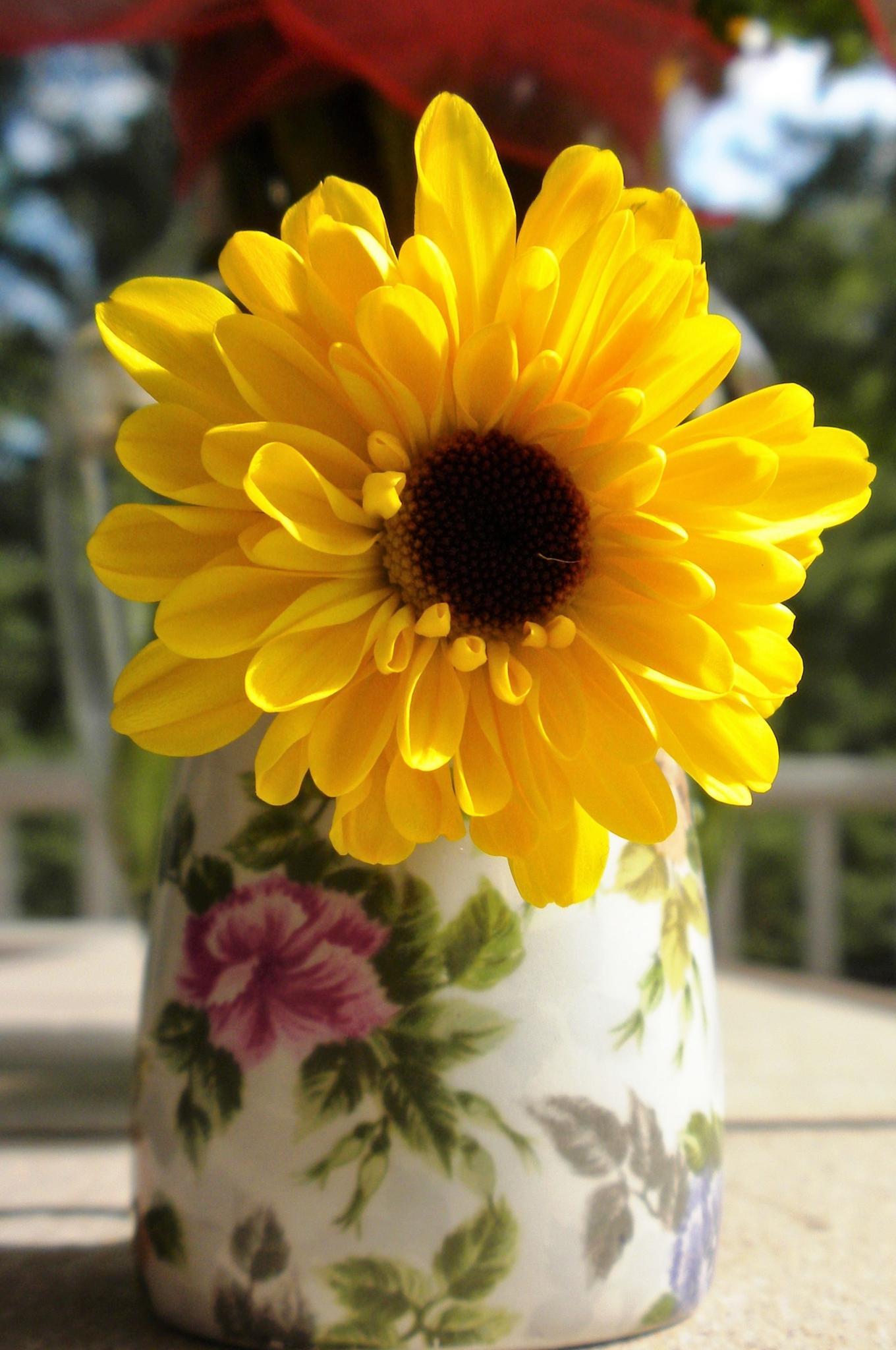 Little Flower, Little Vase by heavenbound2