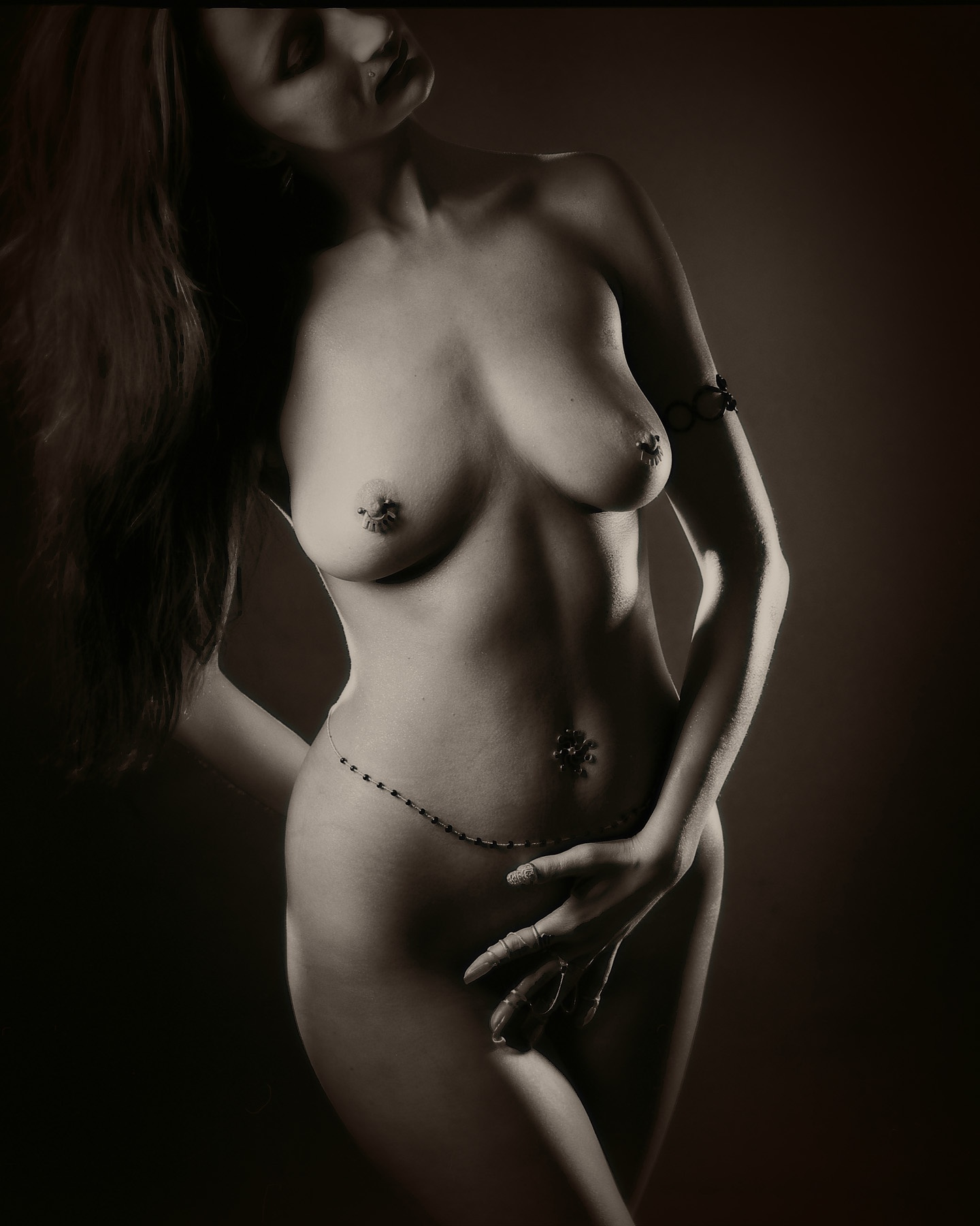 Photo in Nude #nude #beautiful #piersing #rings