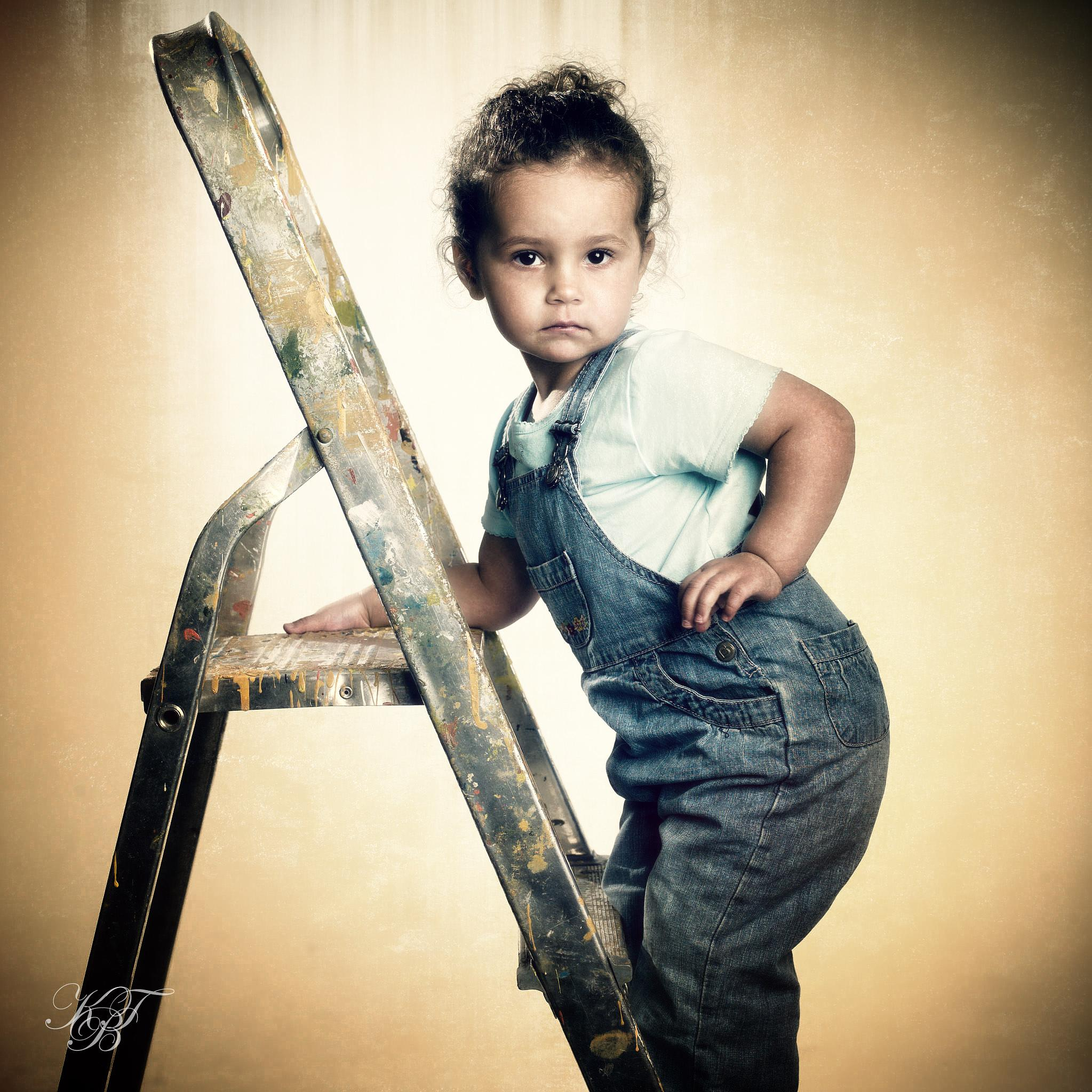 In a ladder by Pixforce