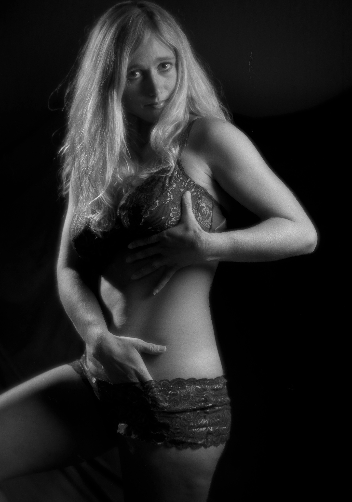 Sexy blonde by Pixforce