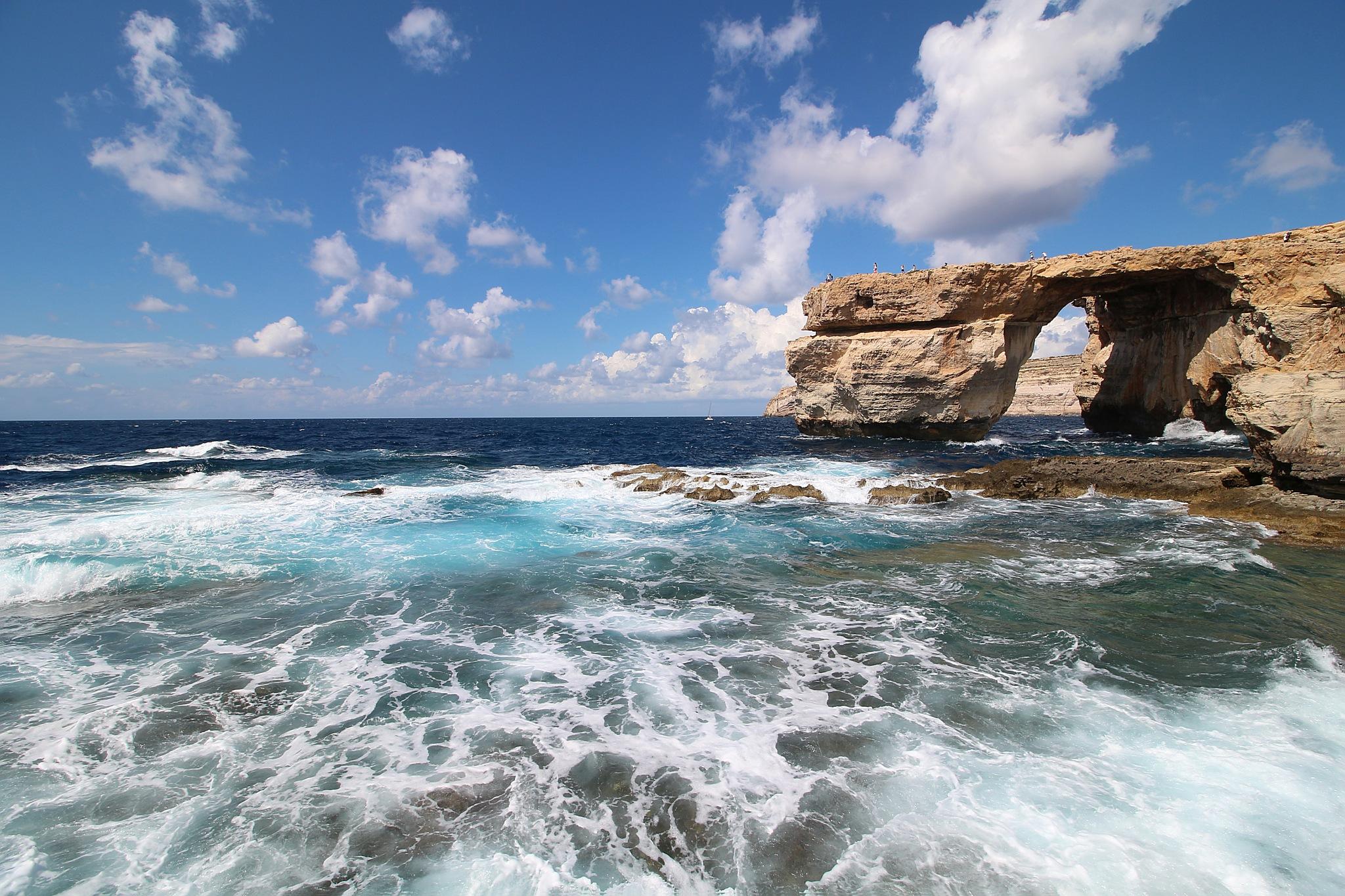 Azure Window Gozo by Freddy Olsson