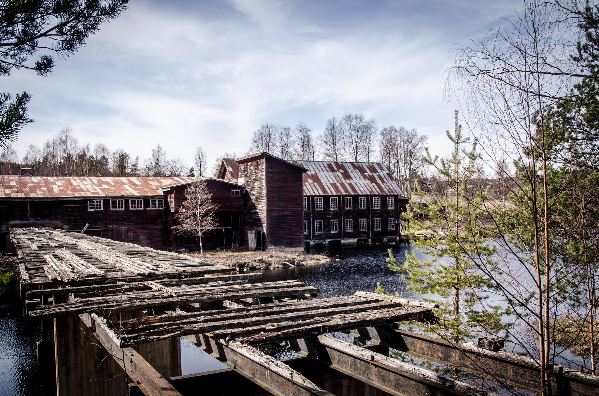 Sawmill by Mia Söderberg