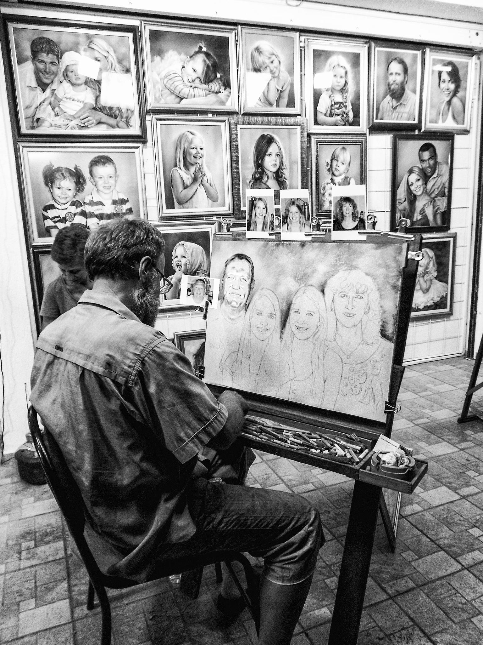 The artist by mariq.kravets
