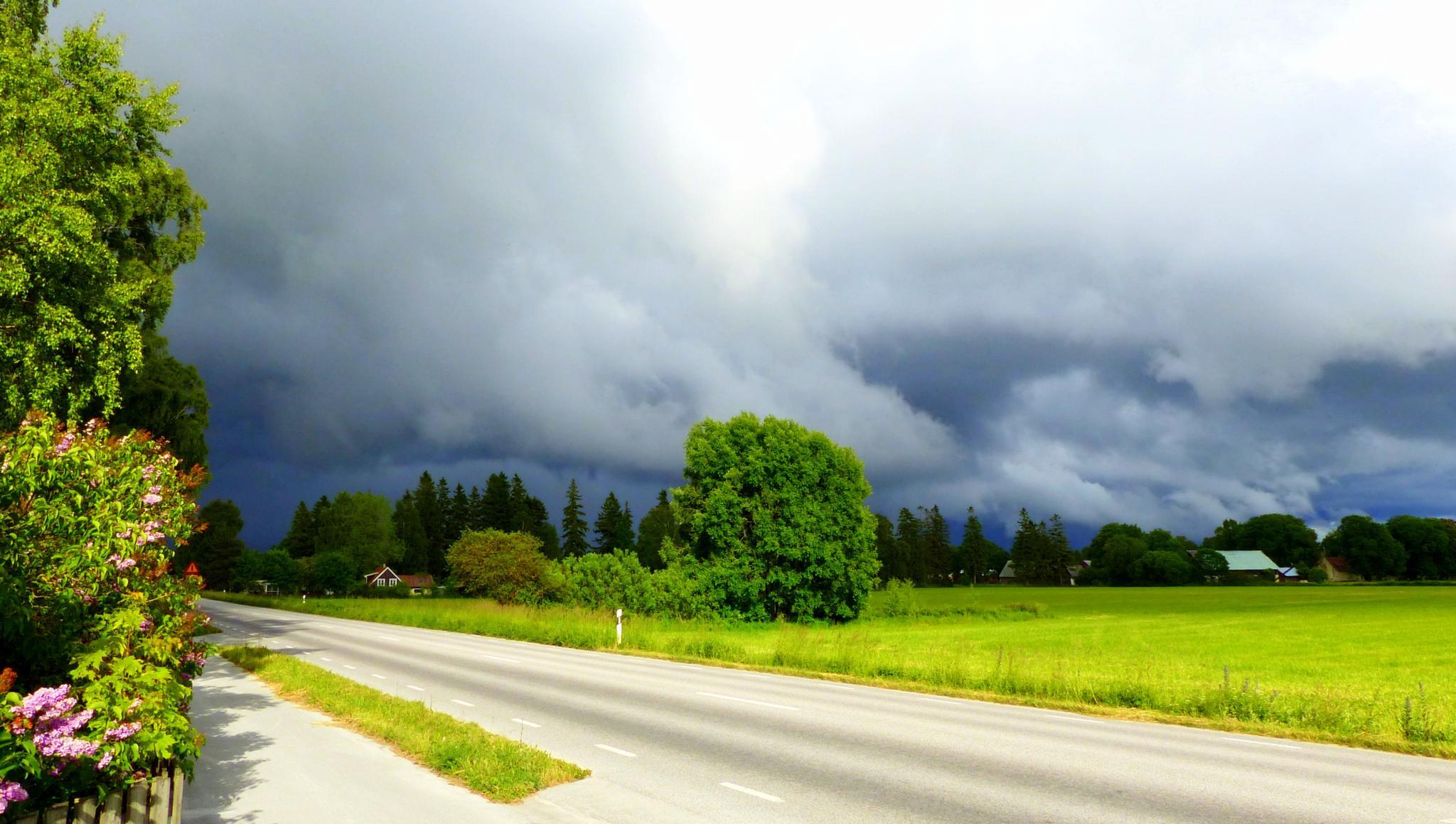 After sun there's rain by maja.e.olin