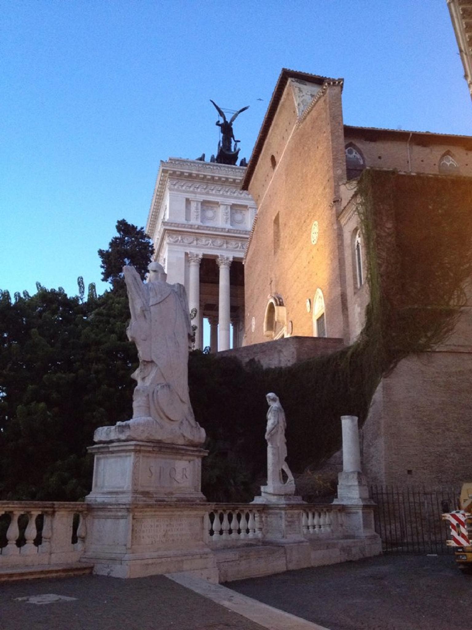 Ara Coeli, Rome by grossiroma