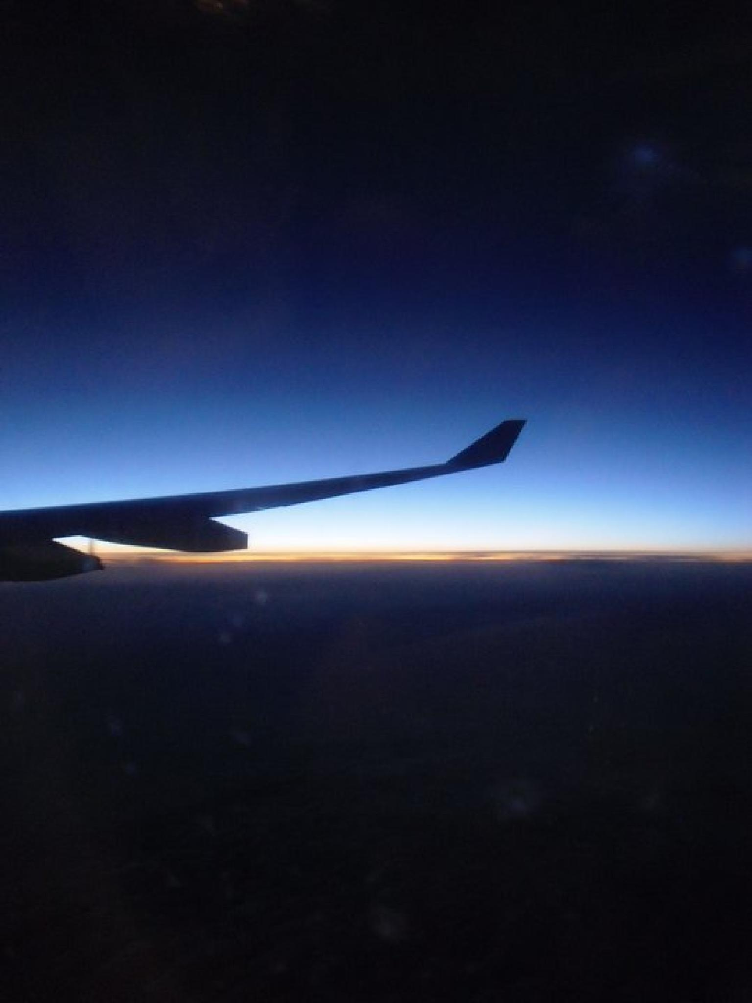 Dawn from the sky, out of Congo. by grossiroma
