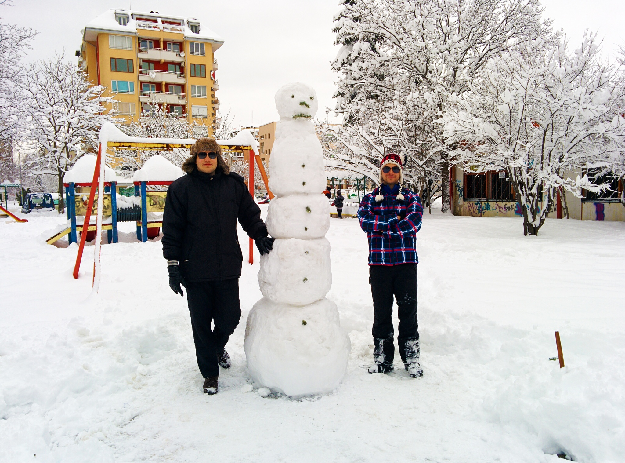 The big snowman by dshutnalov