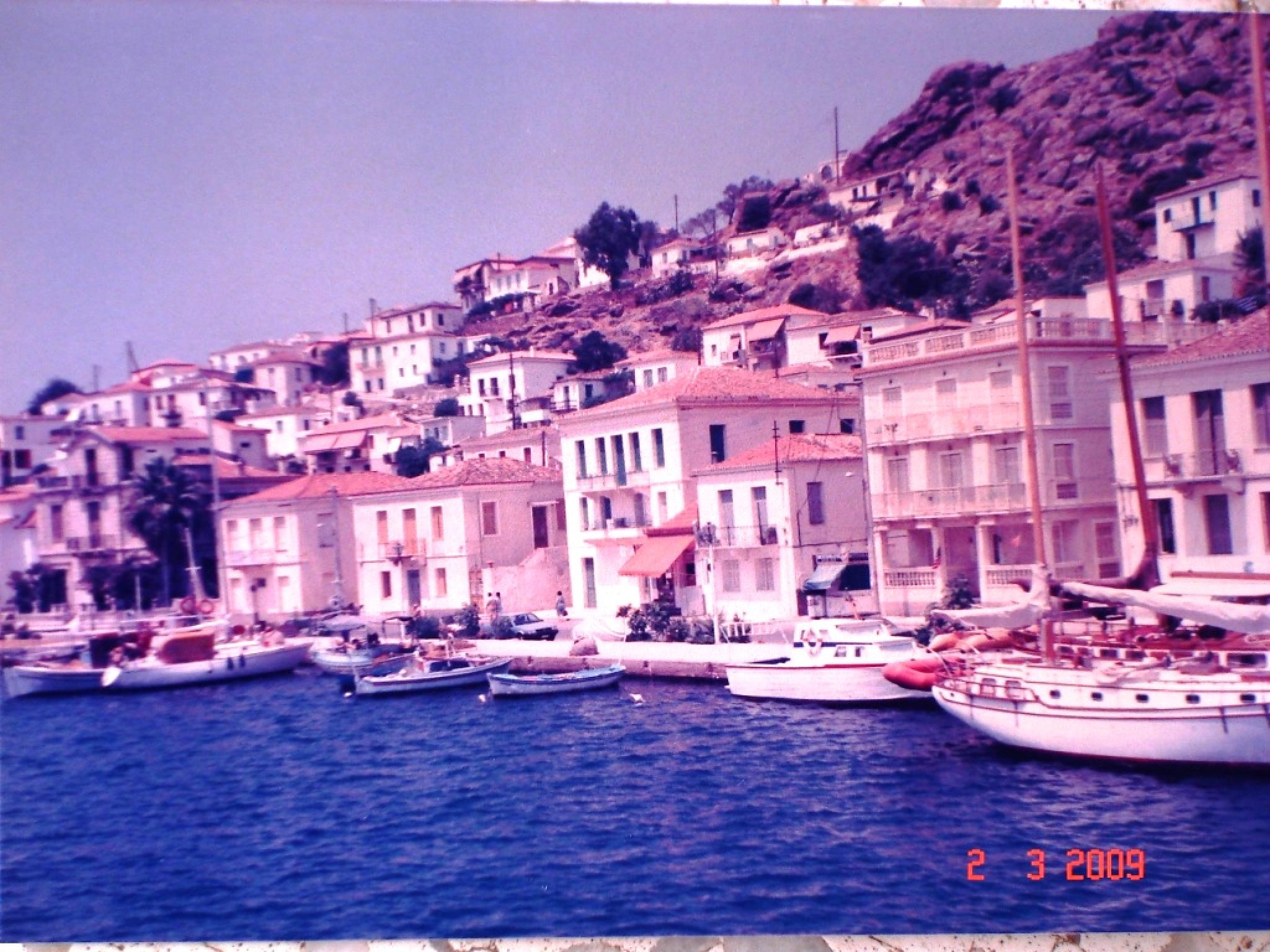 Island in Greece. 1985. )Digital photo from a print)  by Saeed Ahmad