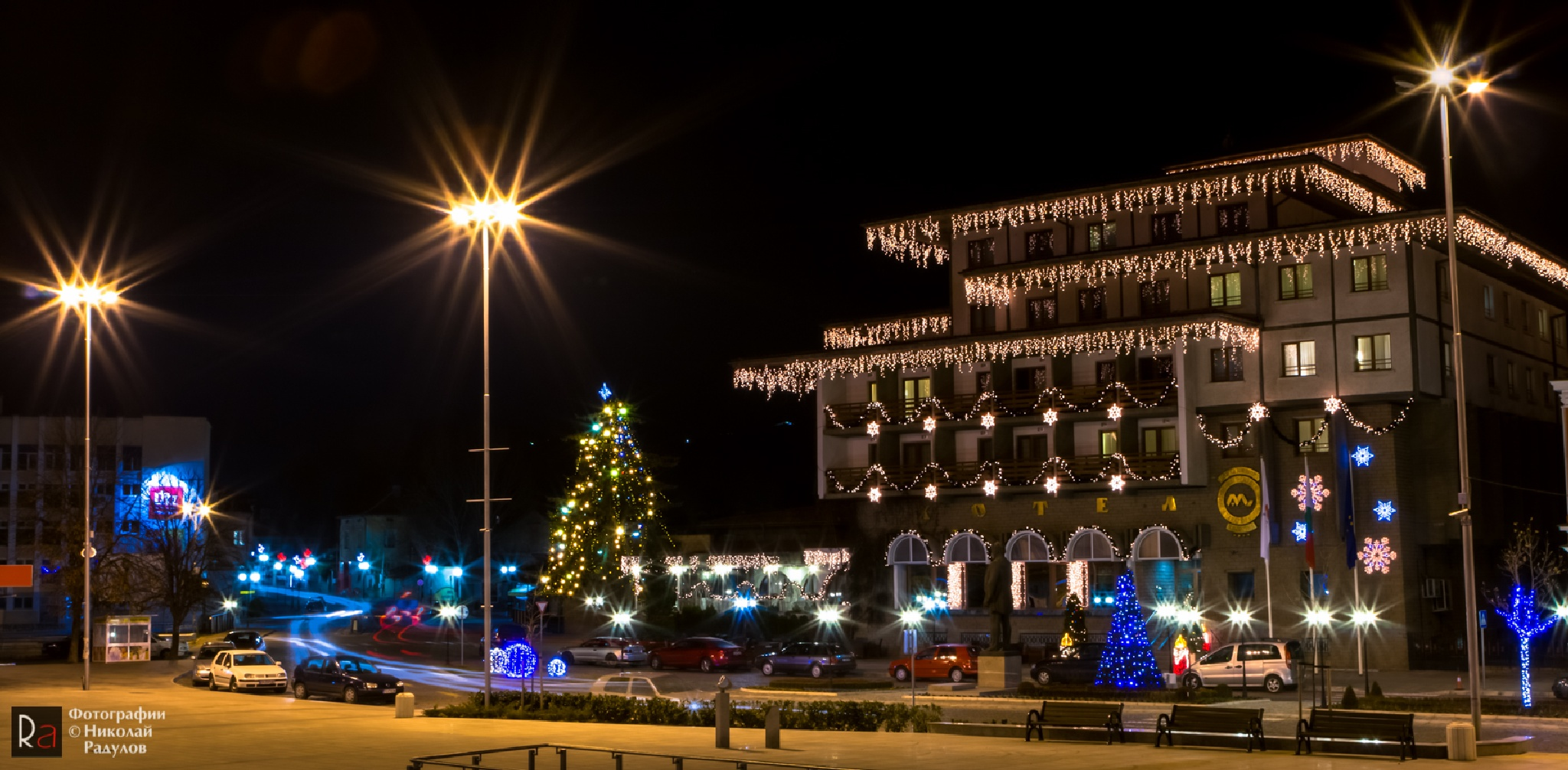 Christmas lights by Nikolay Radulov