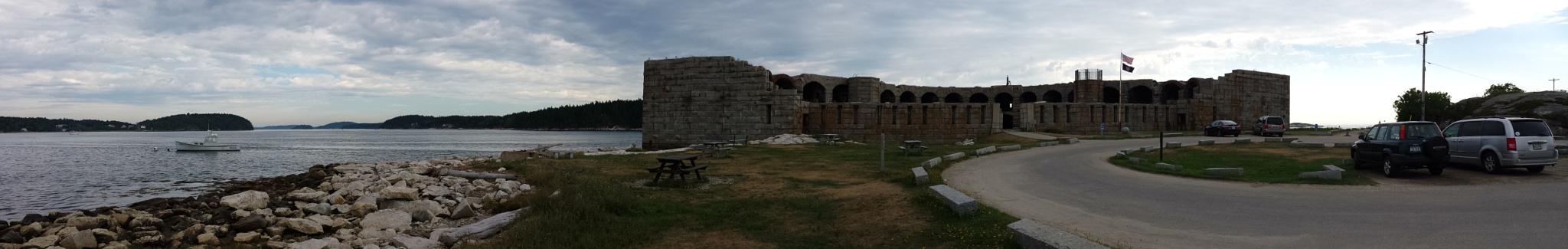 Fort Popham, Phippsburgh Maine  by Cindy