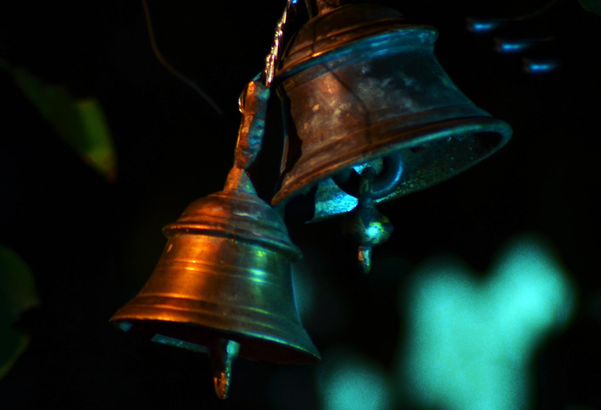 Bells by mackerel skies