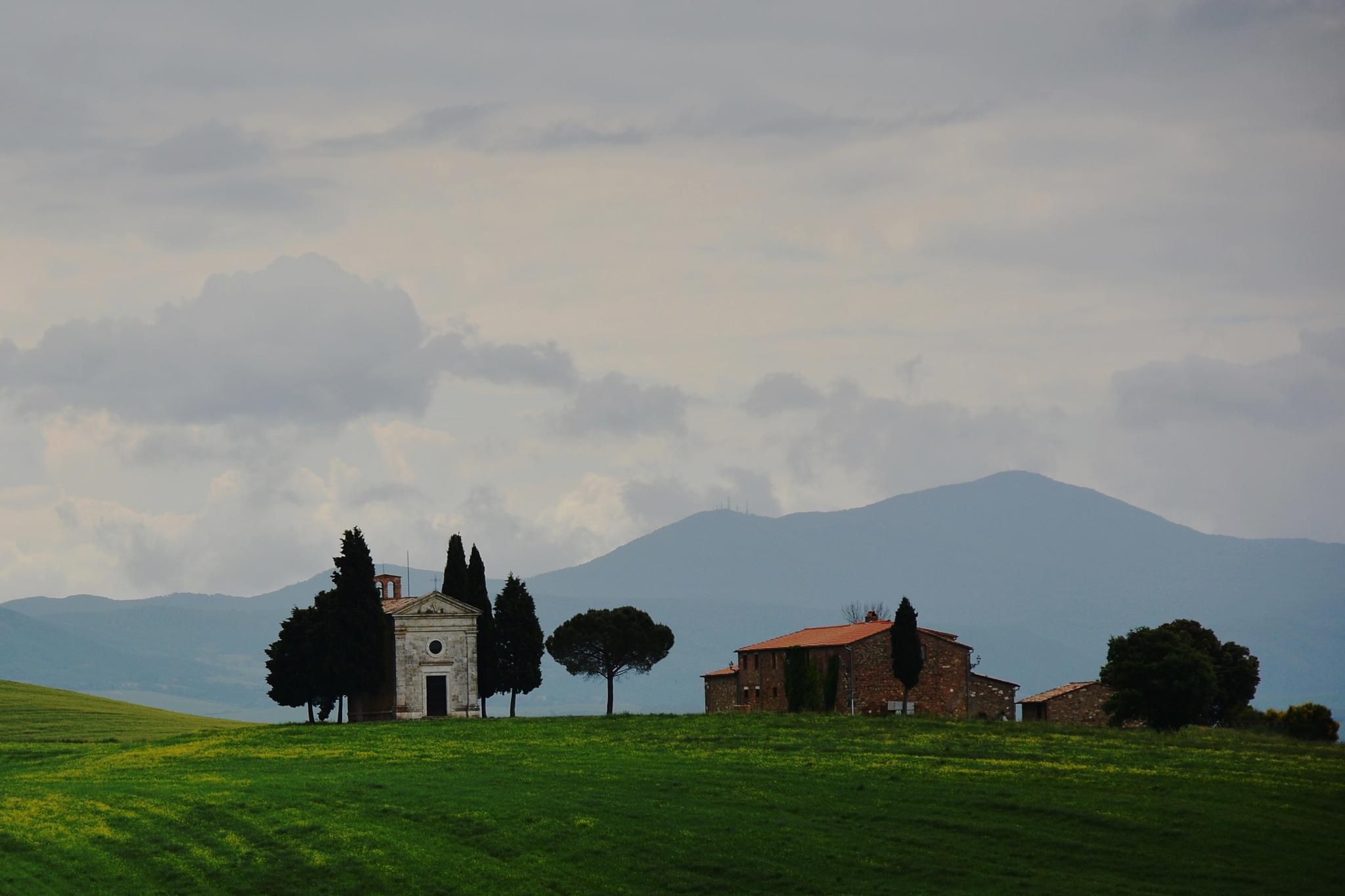 Cappella della Madonna di Vitaleta by ivo markes