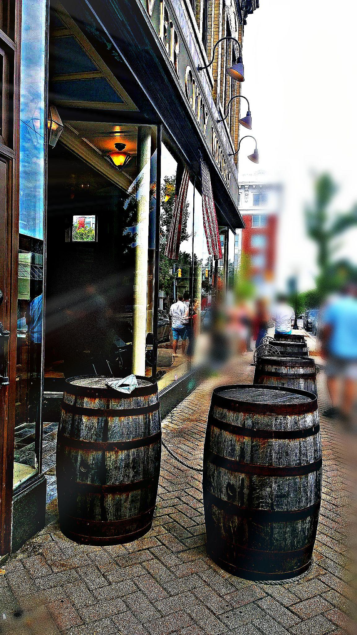 Old barrels by marie.short.18
