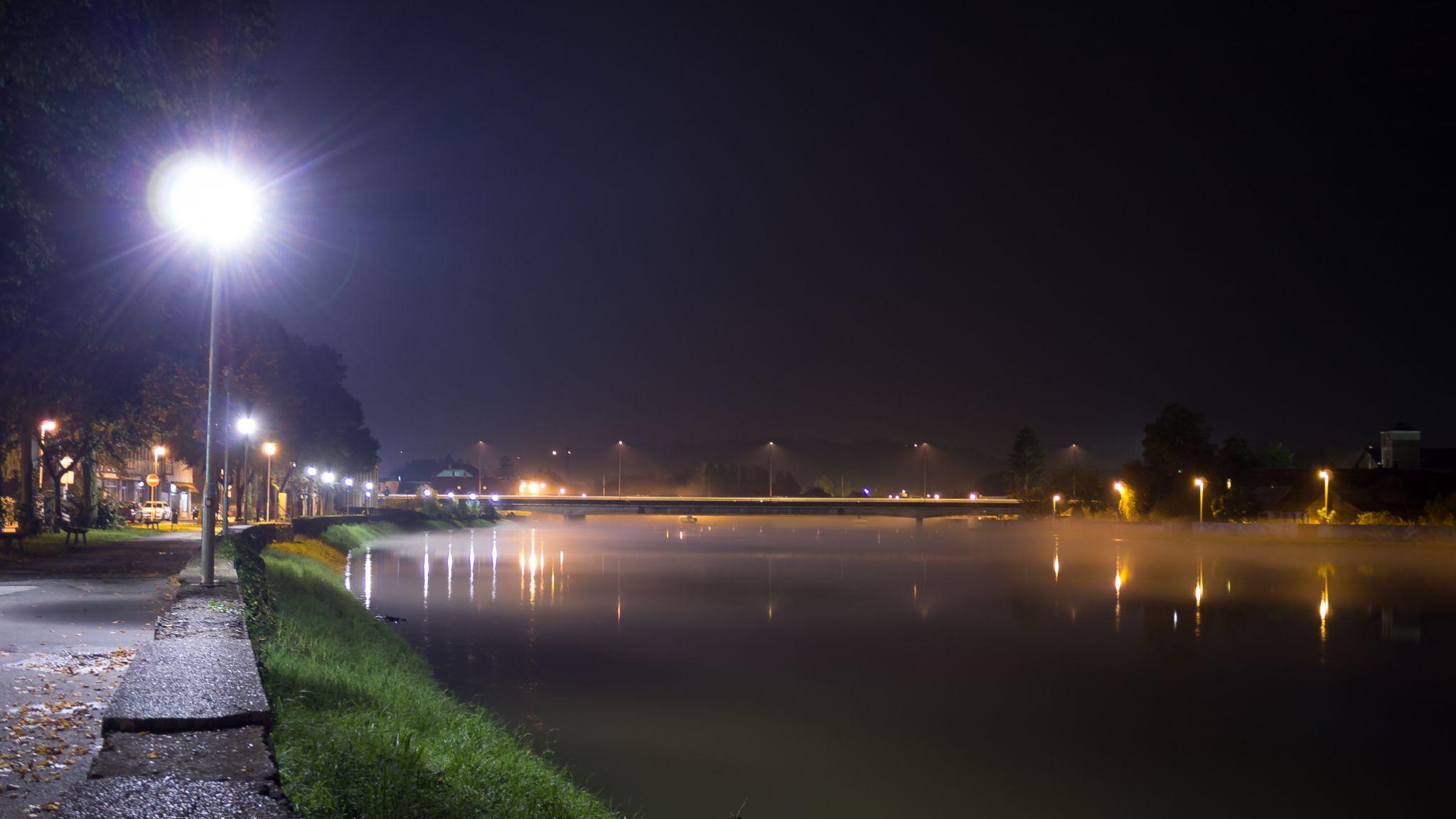 Walking by river Kupa by oliversvob