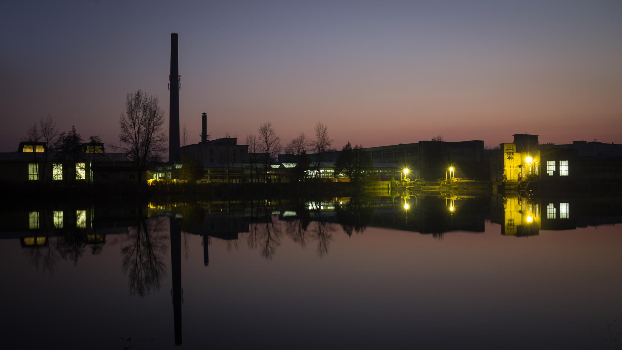 Sunset of an industry by oliversvob