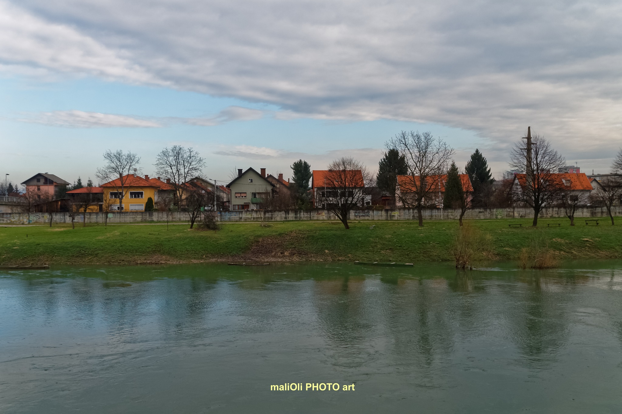 By the river Kupa by oliversvob