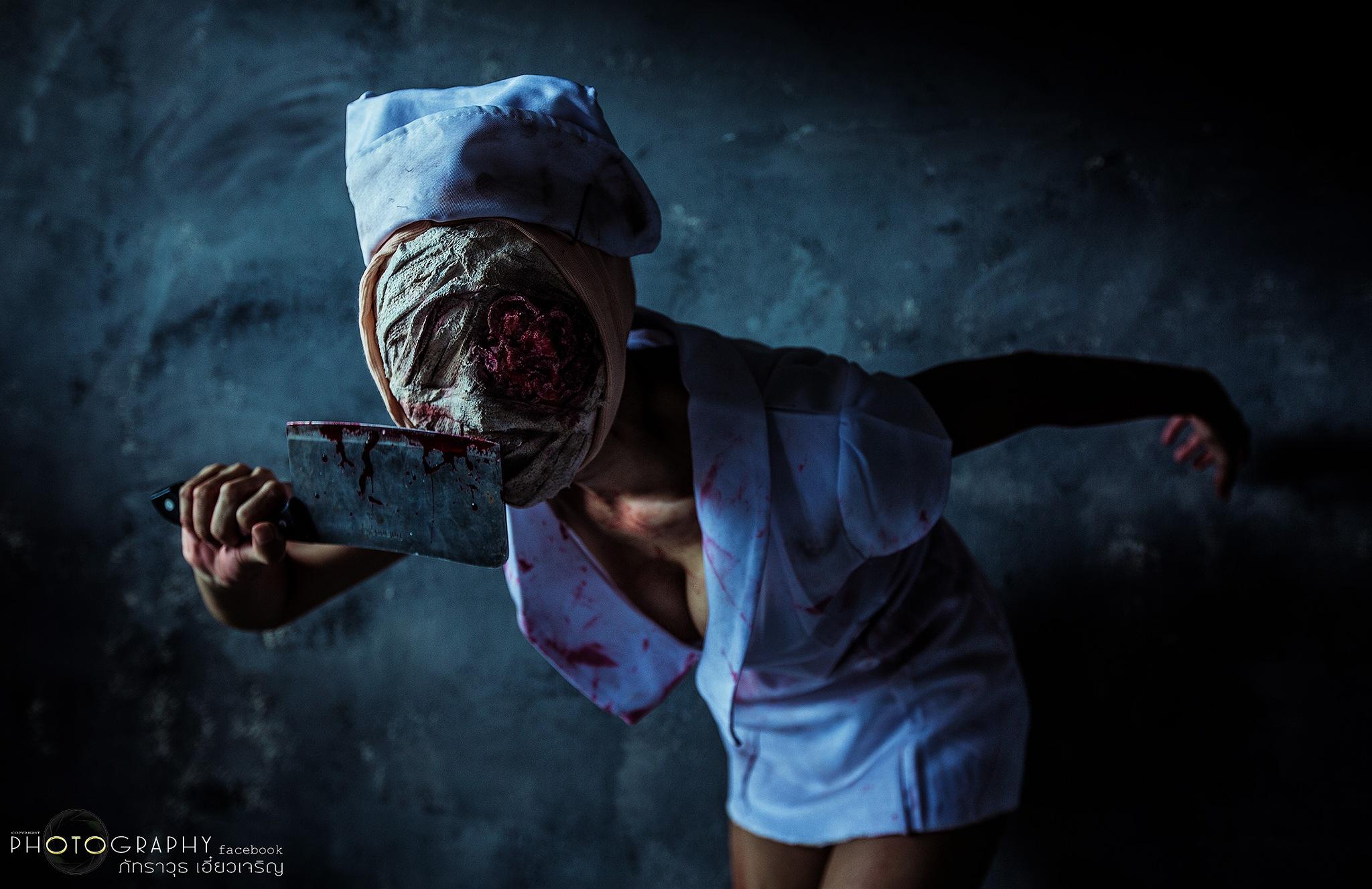 silent hill nurse  by phatrawuth