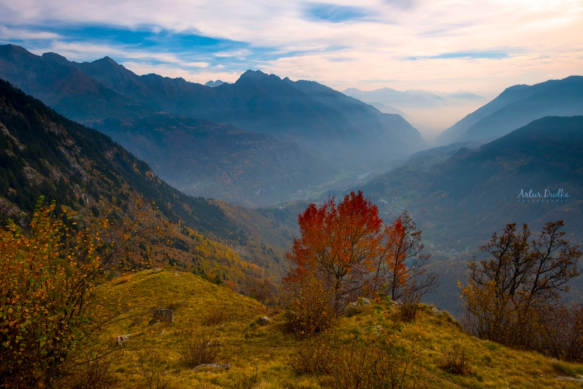 Fall in the Devero Valley by Artur Dudka