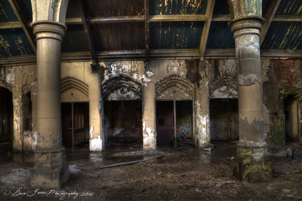 Abandoned Church by DaveJonesPhotography