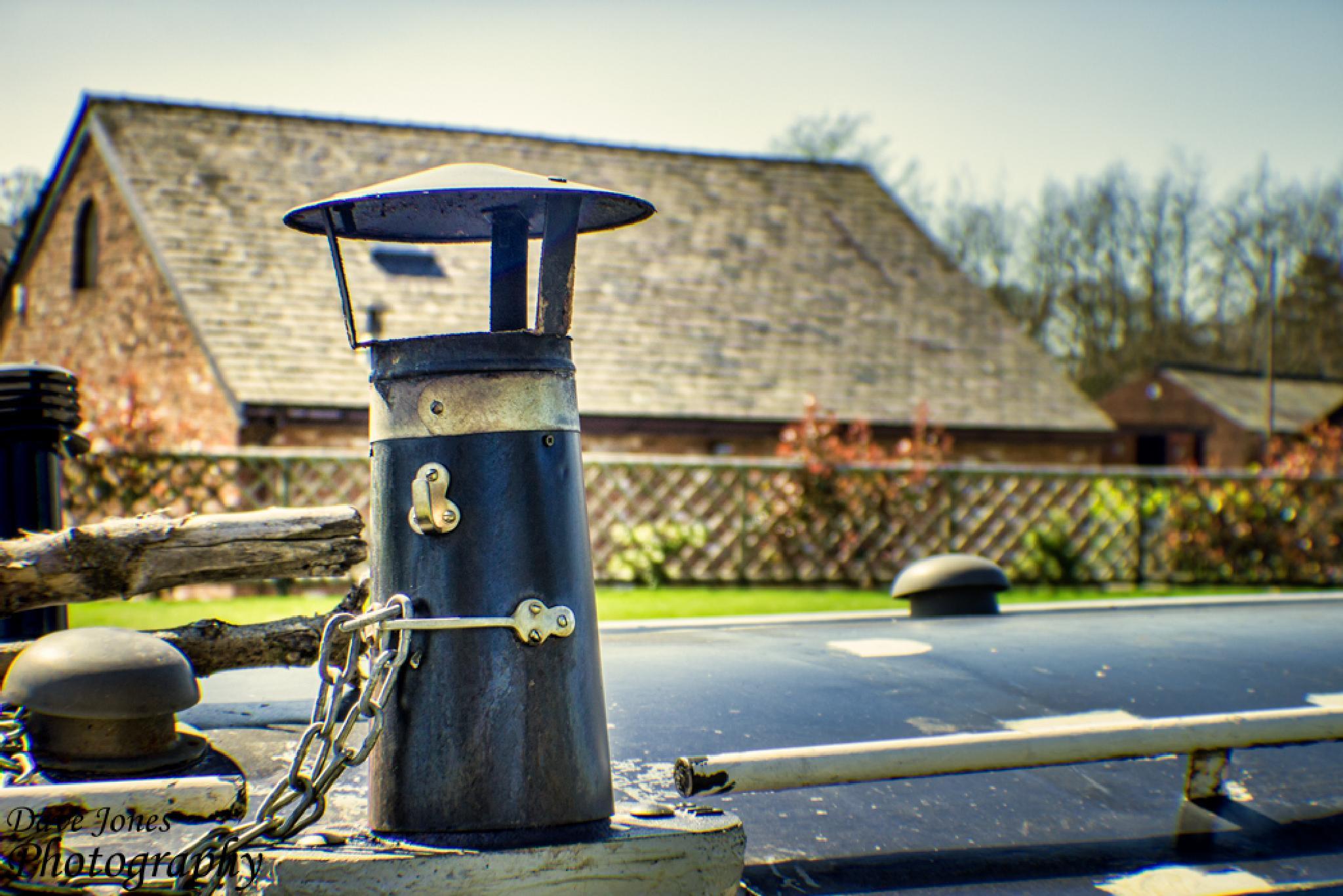 chimne stack by DaveJonesPhotography