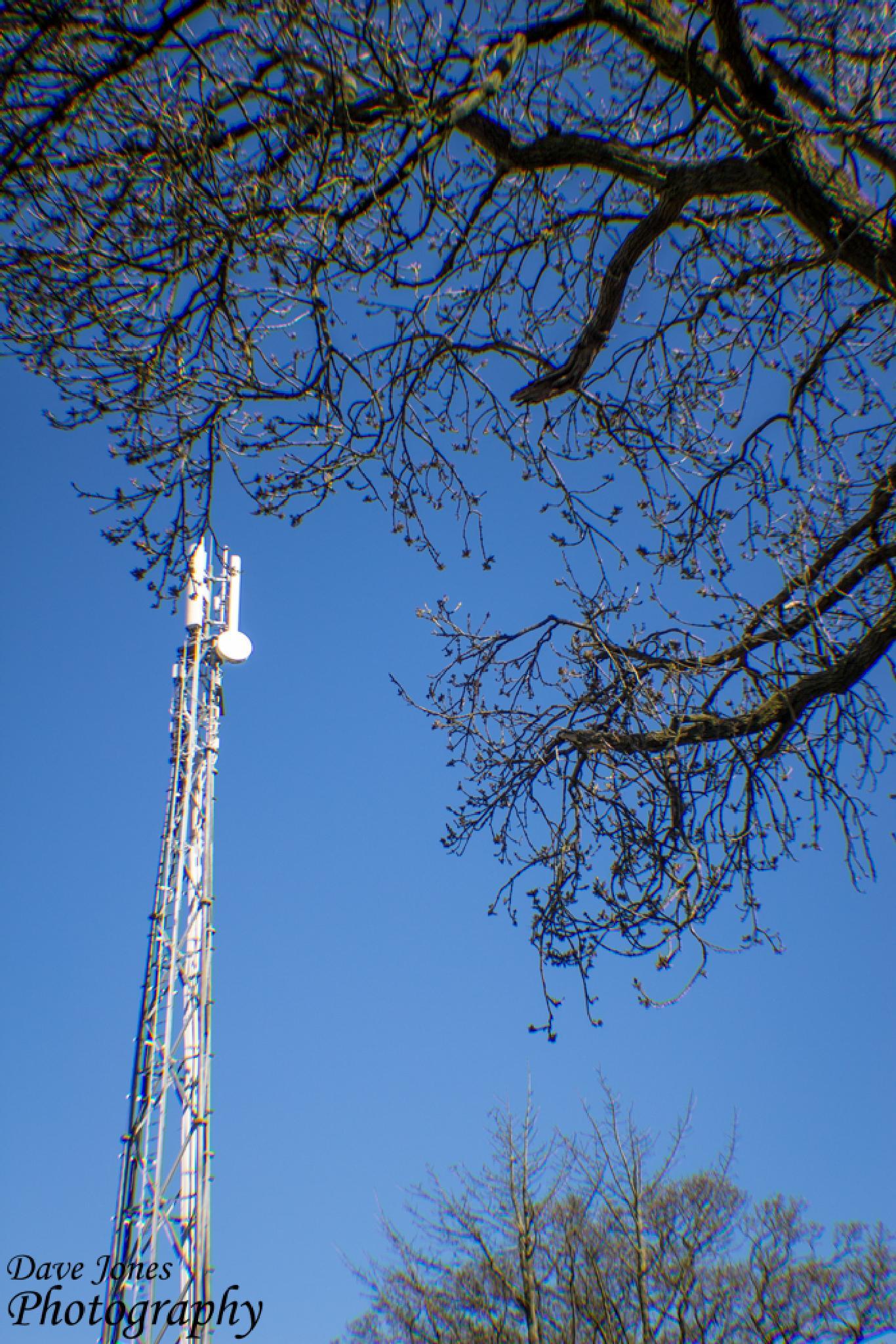 Radio Tower by DaveJonesPhotography