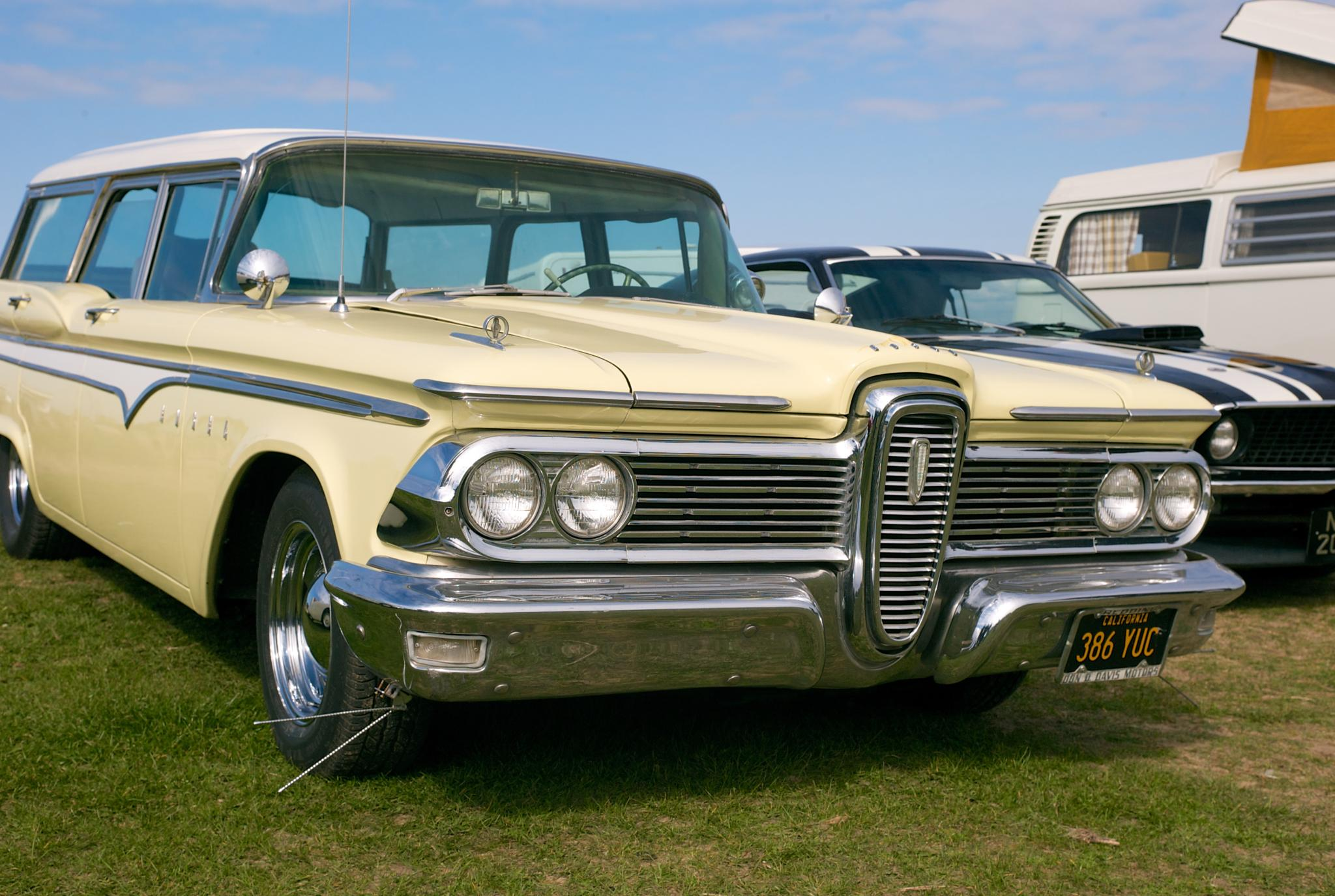 Edsel Station Wagon  by Dave Little