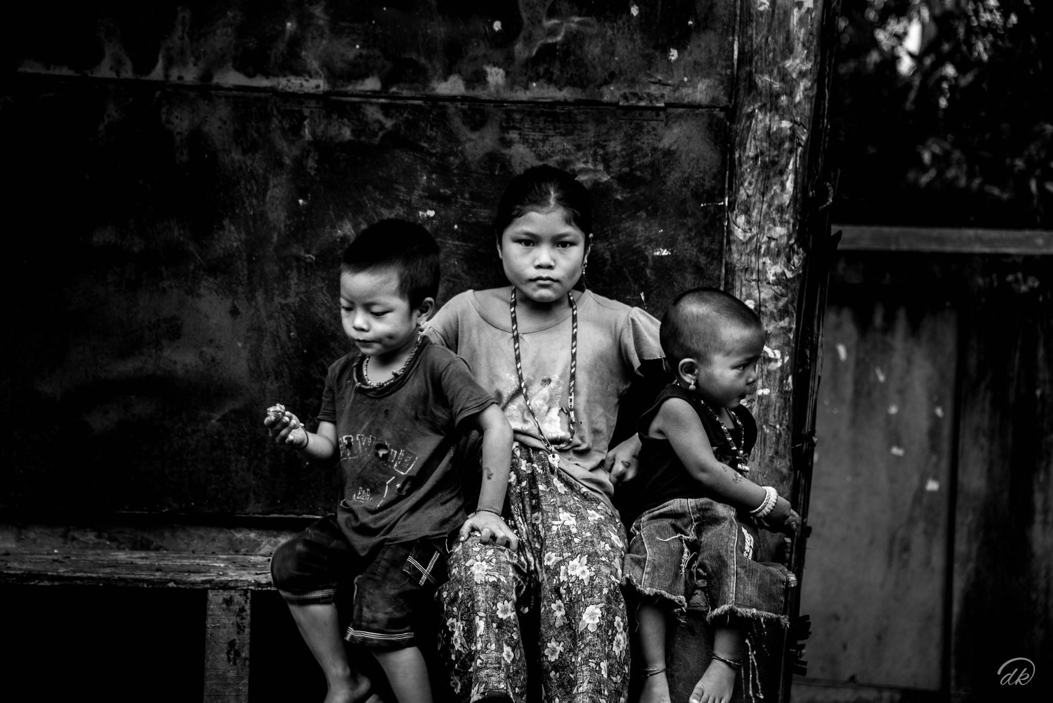 Tribal Childhood by dk snap