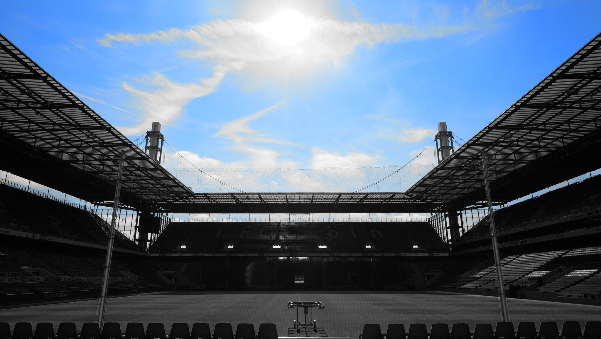 Stadium Cologne by Juergen Schmitz