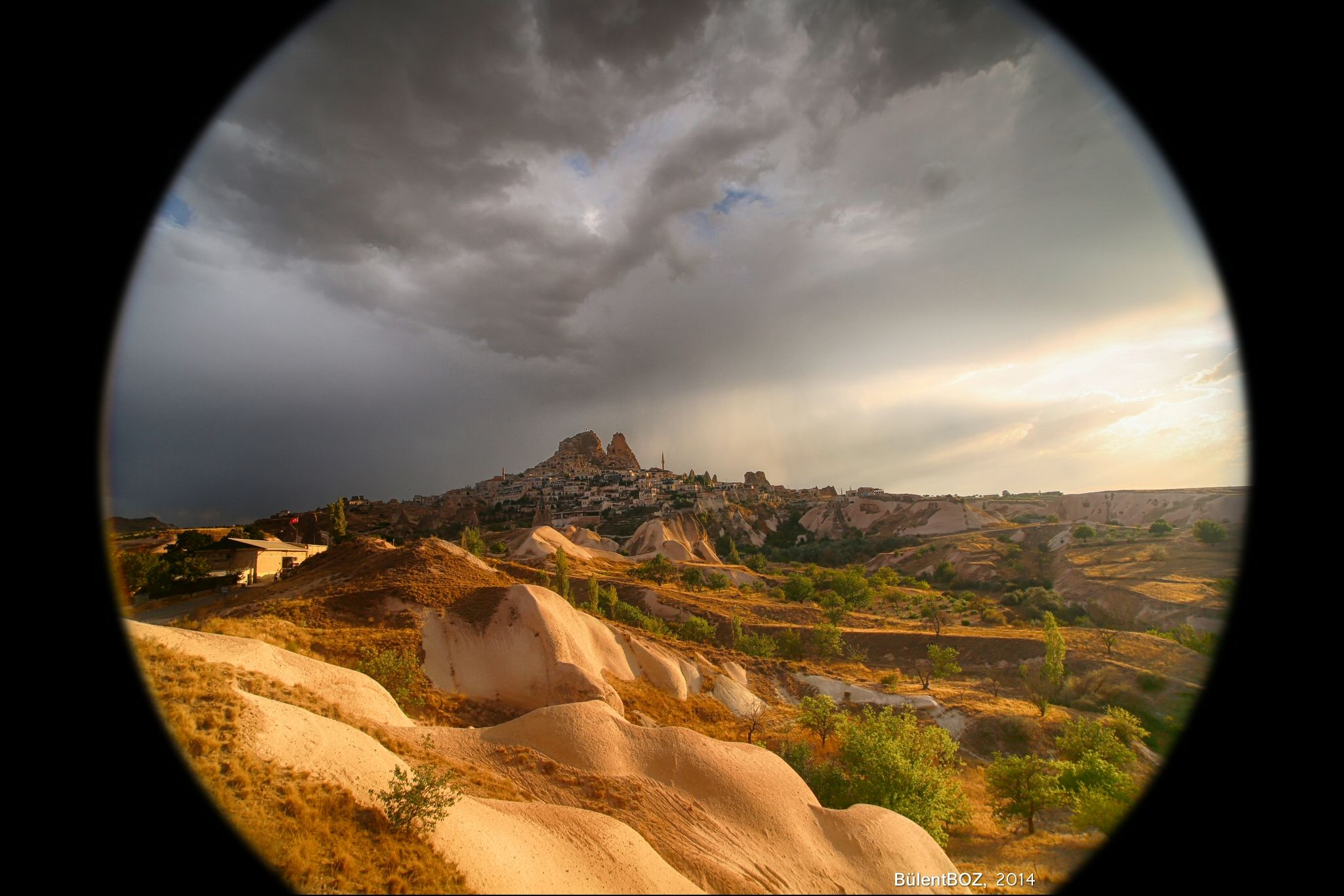 giant pinhole lens by bulentboz