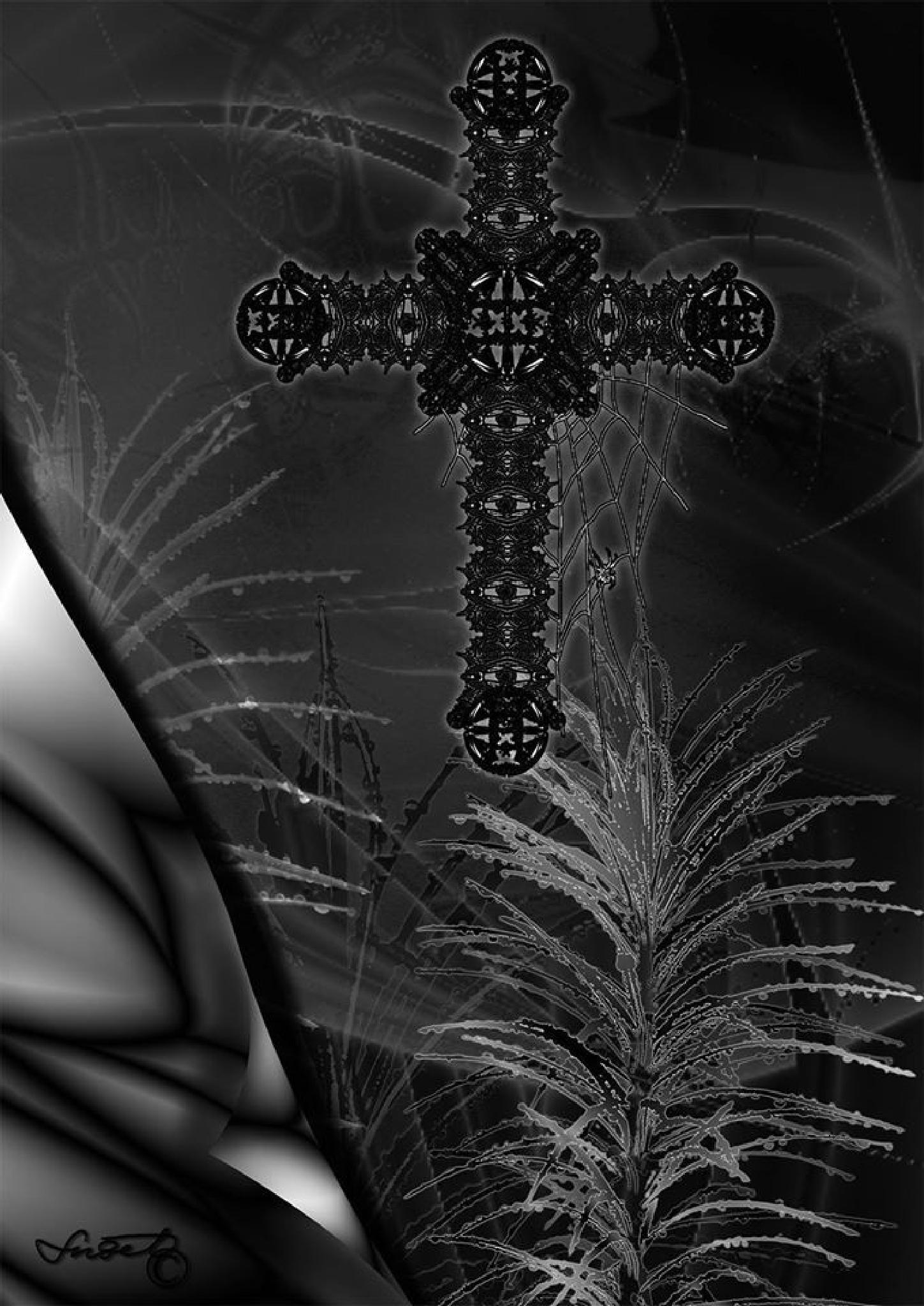"""""""A cross on my mind"""" by snezana.lindskog"""