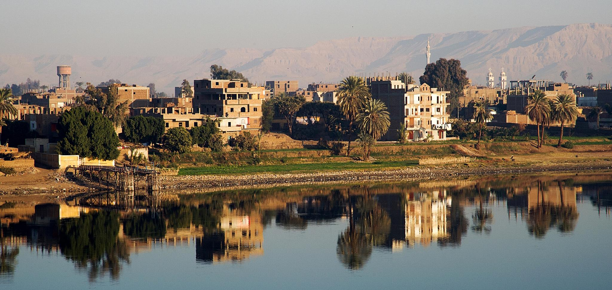 The Nile Luxor by Peter Puddiphatt