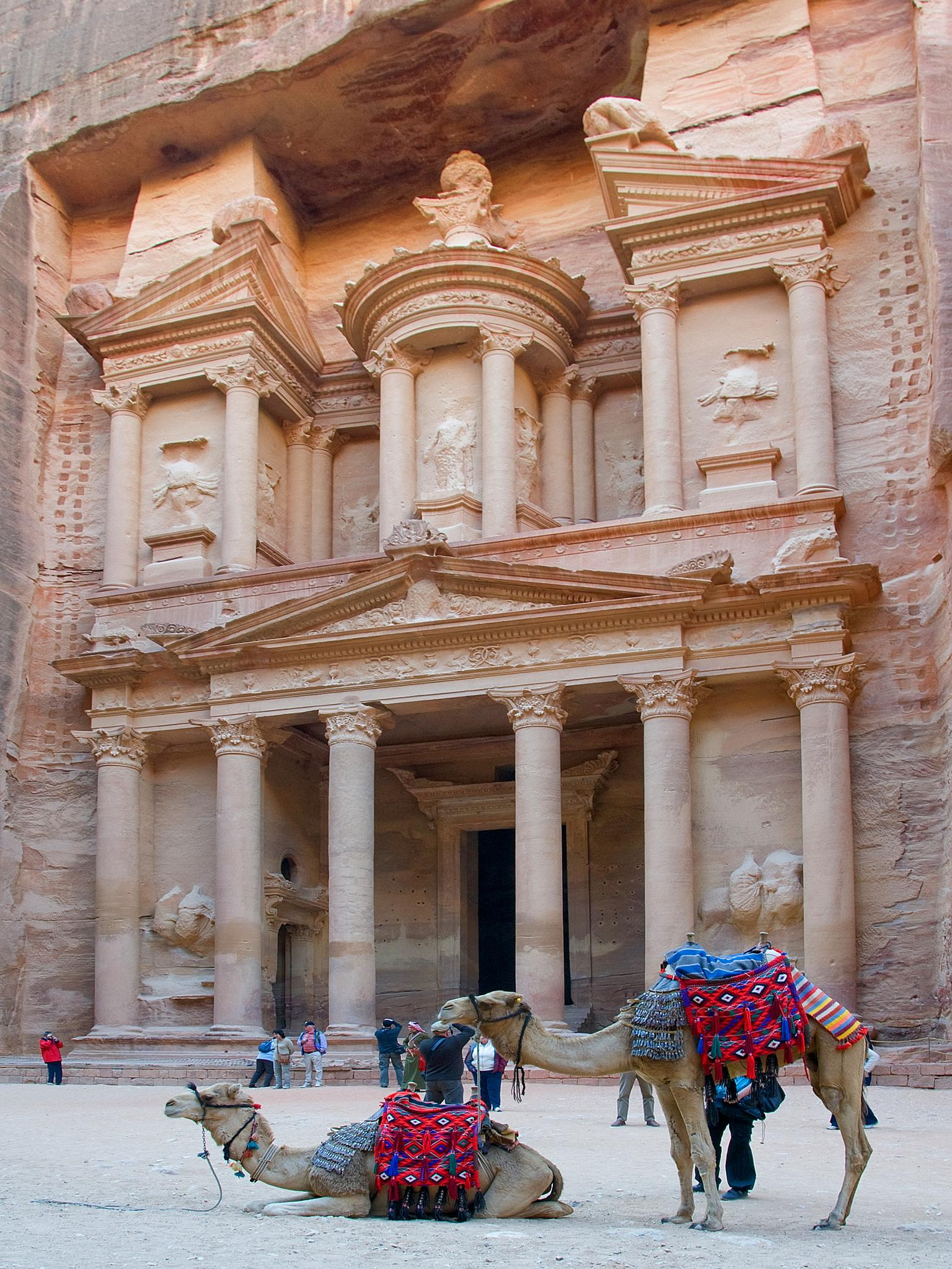 Petra Jordan by Peter Puddiphatt