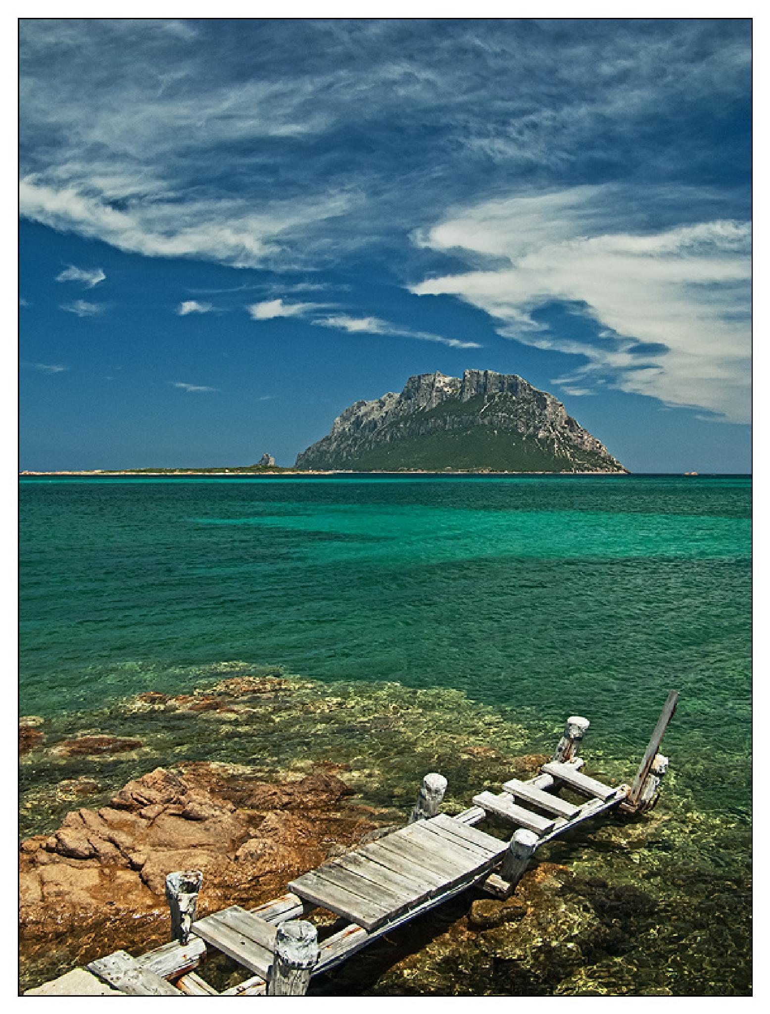 Island of Tavolara by longroute