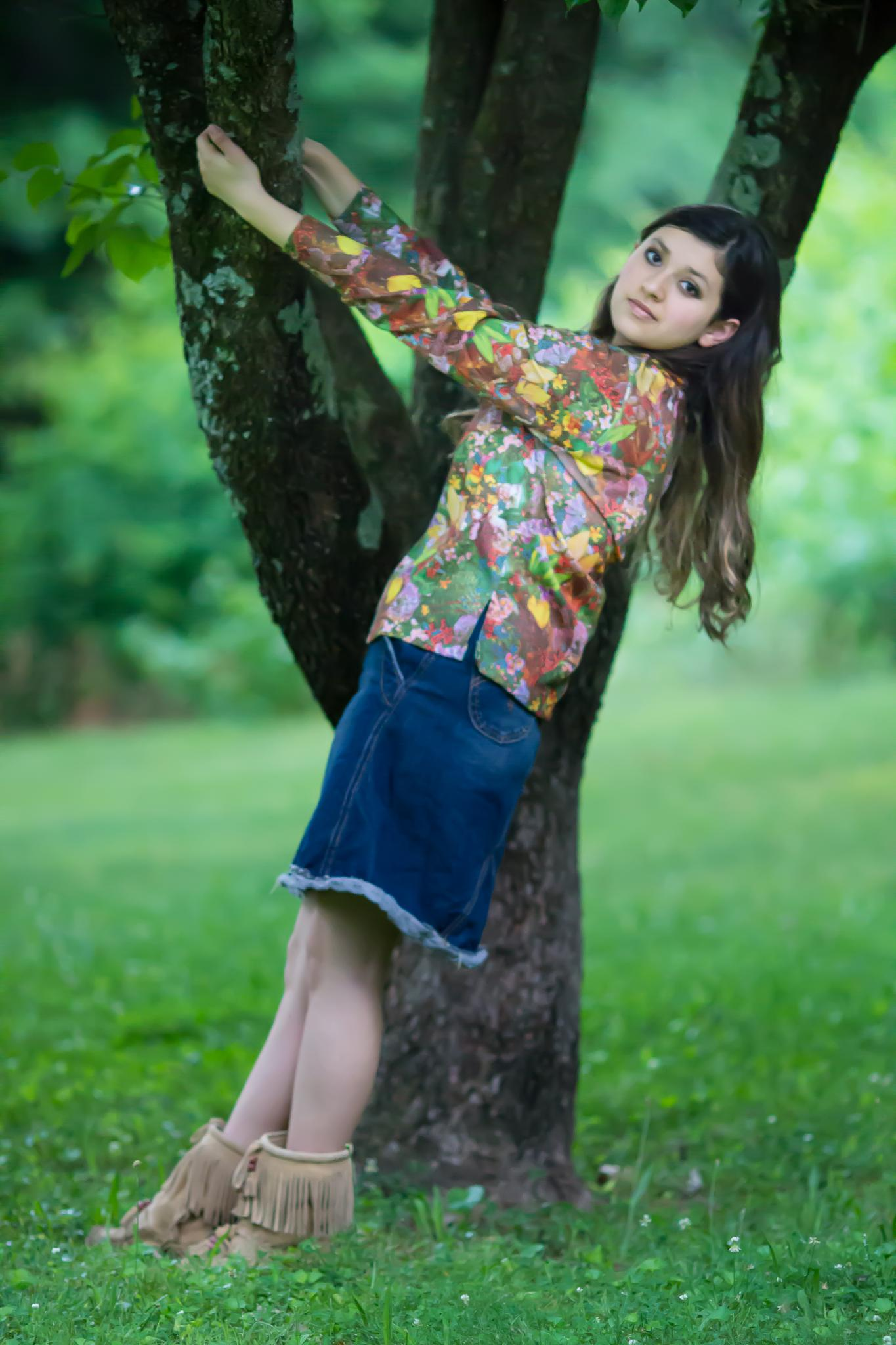 Tree Hugger by The Butterfly Huntress
