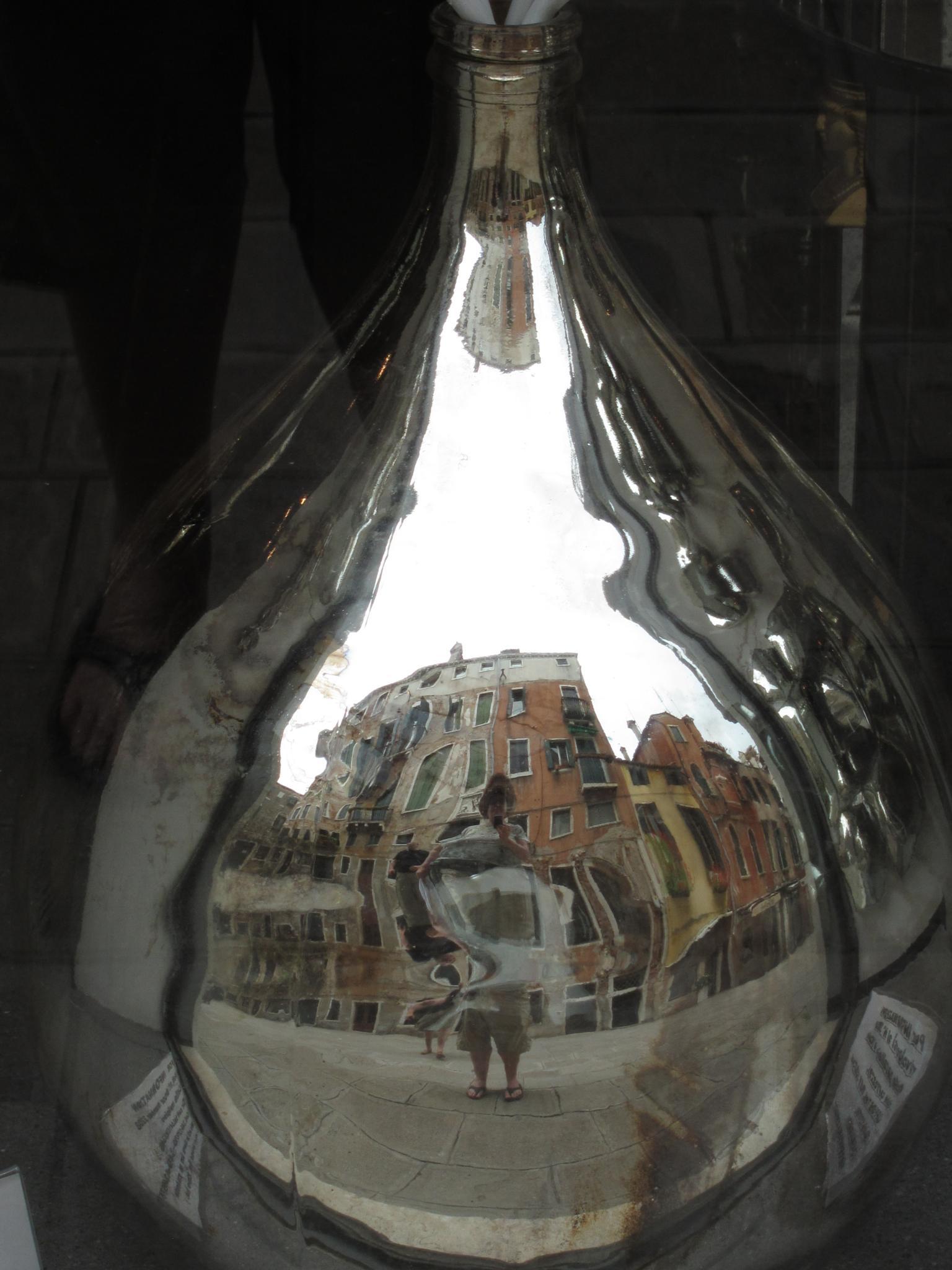 In a bottle by Carolyn Chase