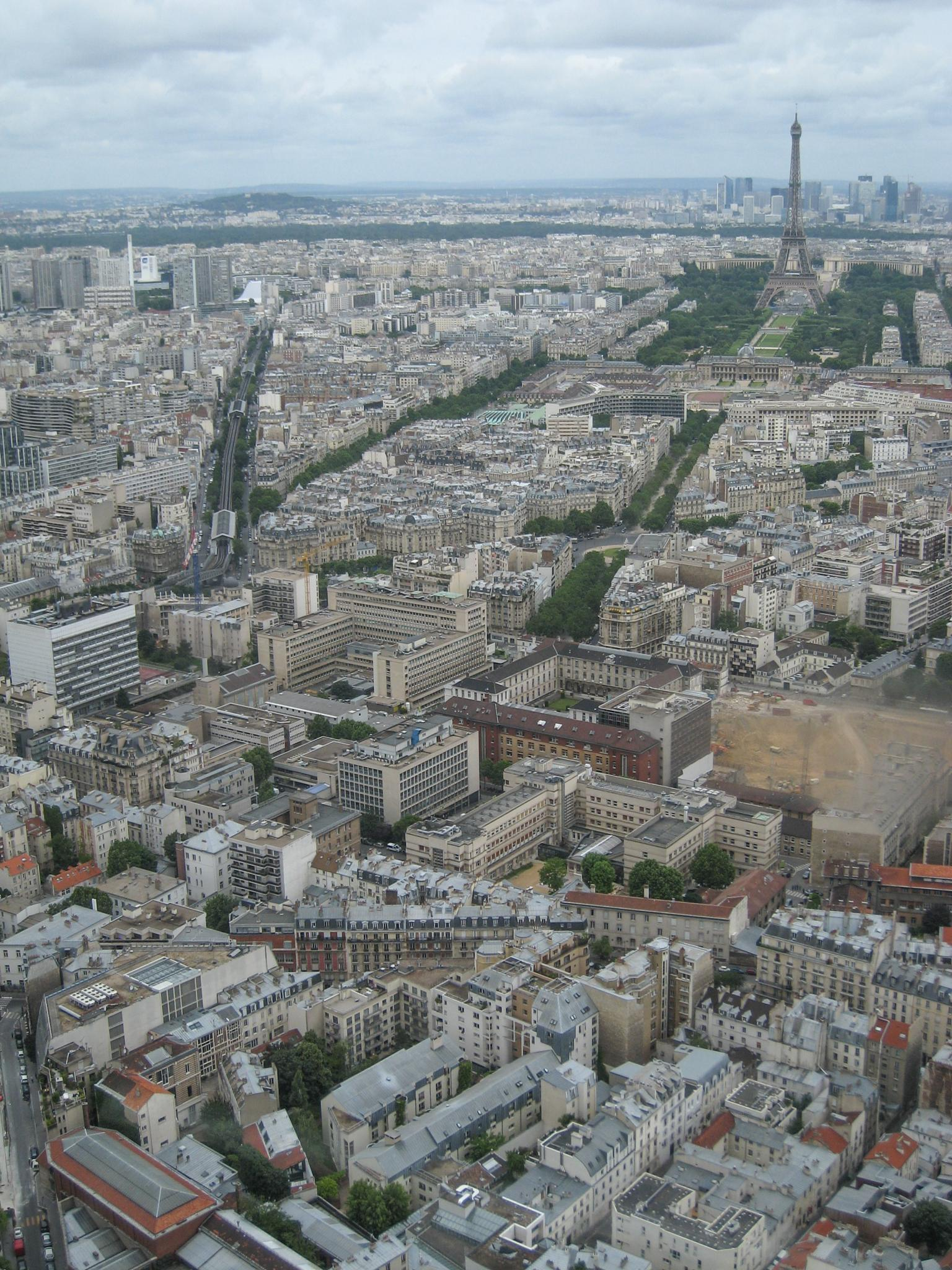 View from Tour Montparnasse 1/3 by Carolyn Chase