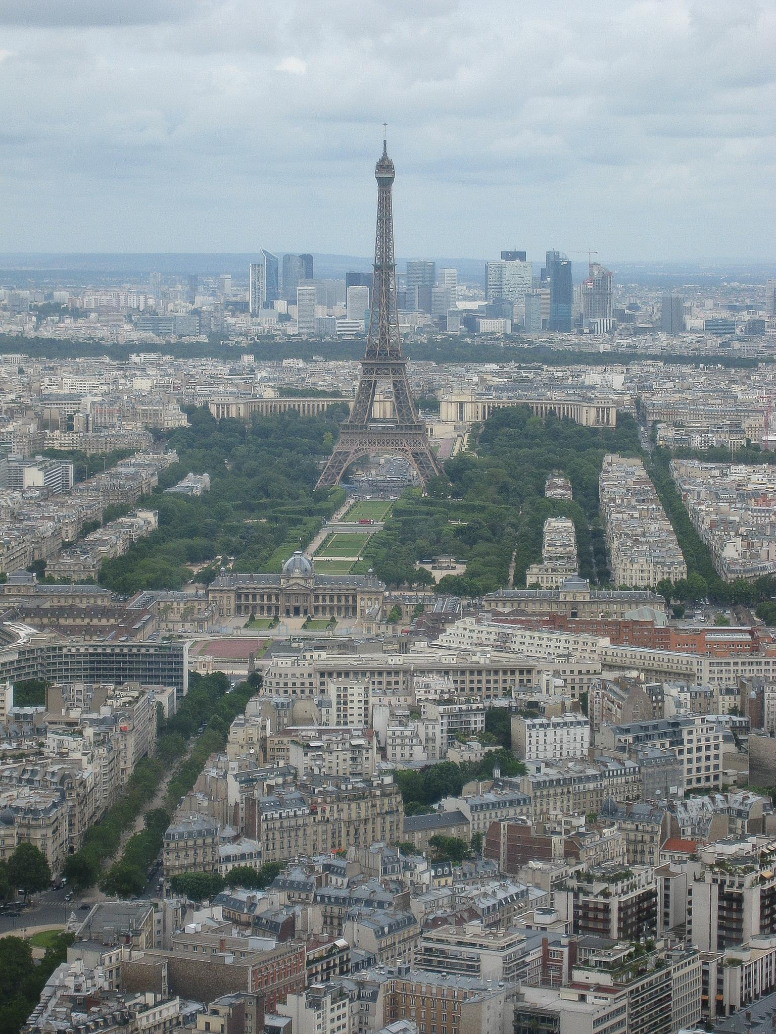 View from Tour Montparnasse 2/3 by Carolyn Chase