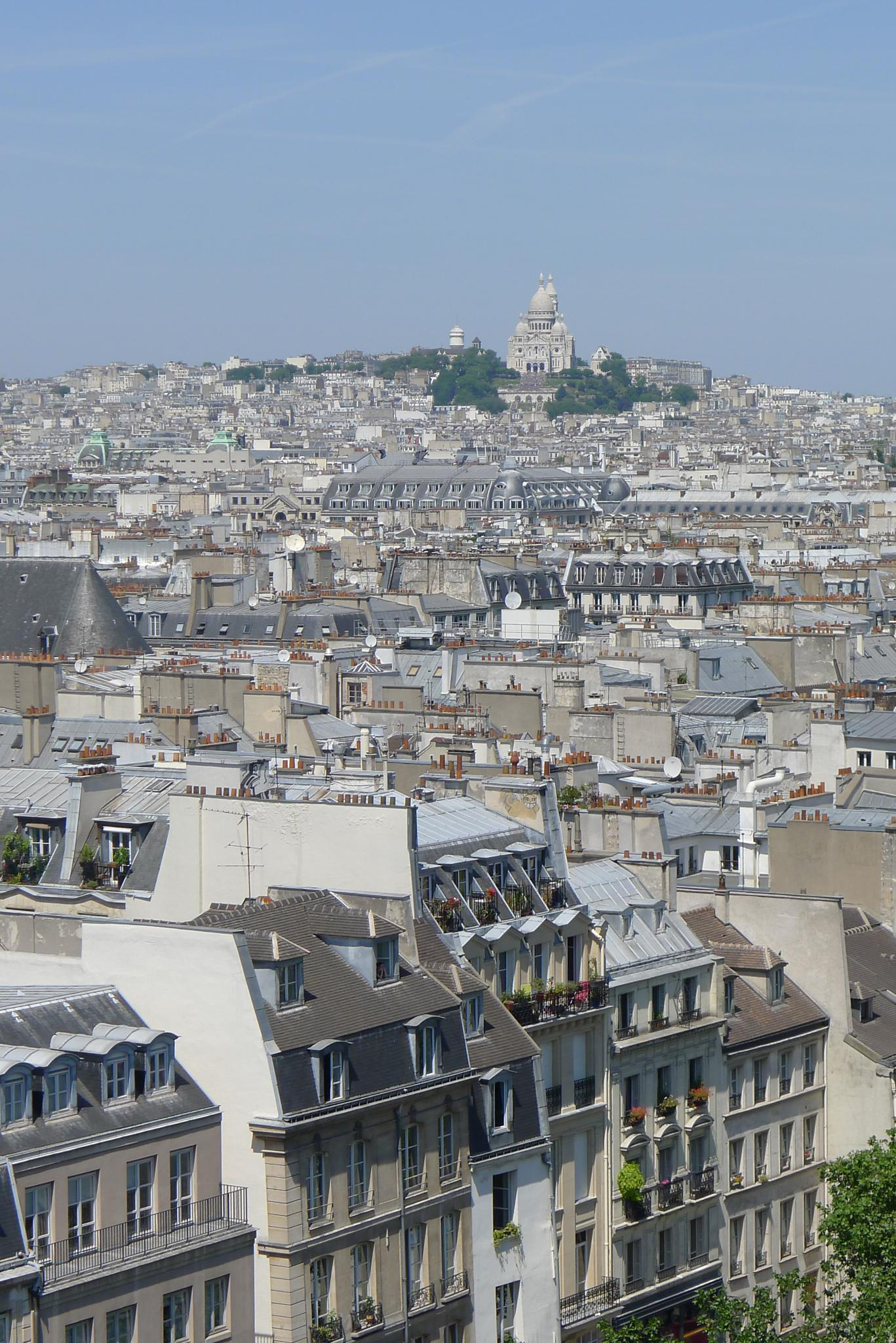 Pompidou View by Carolyn Chase