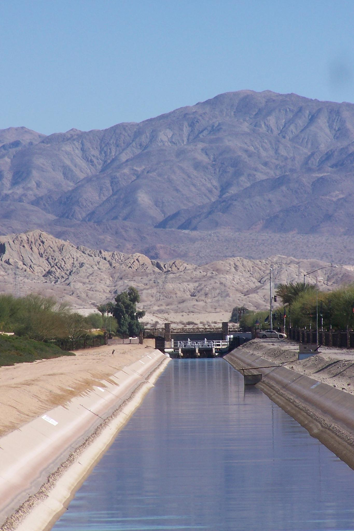 The All-American Canal by ArleenDel