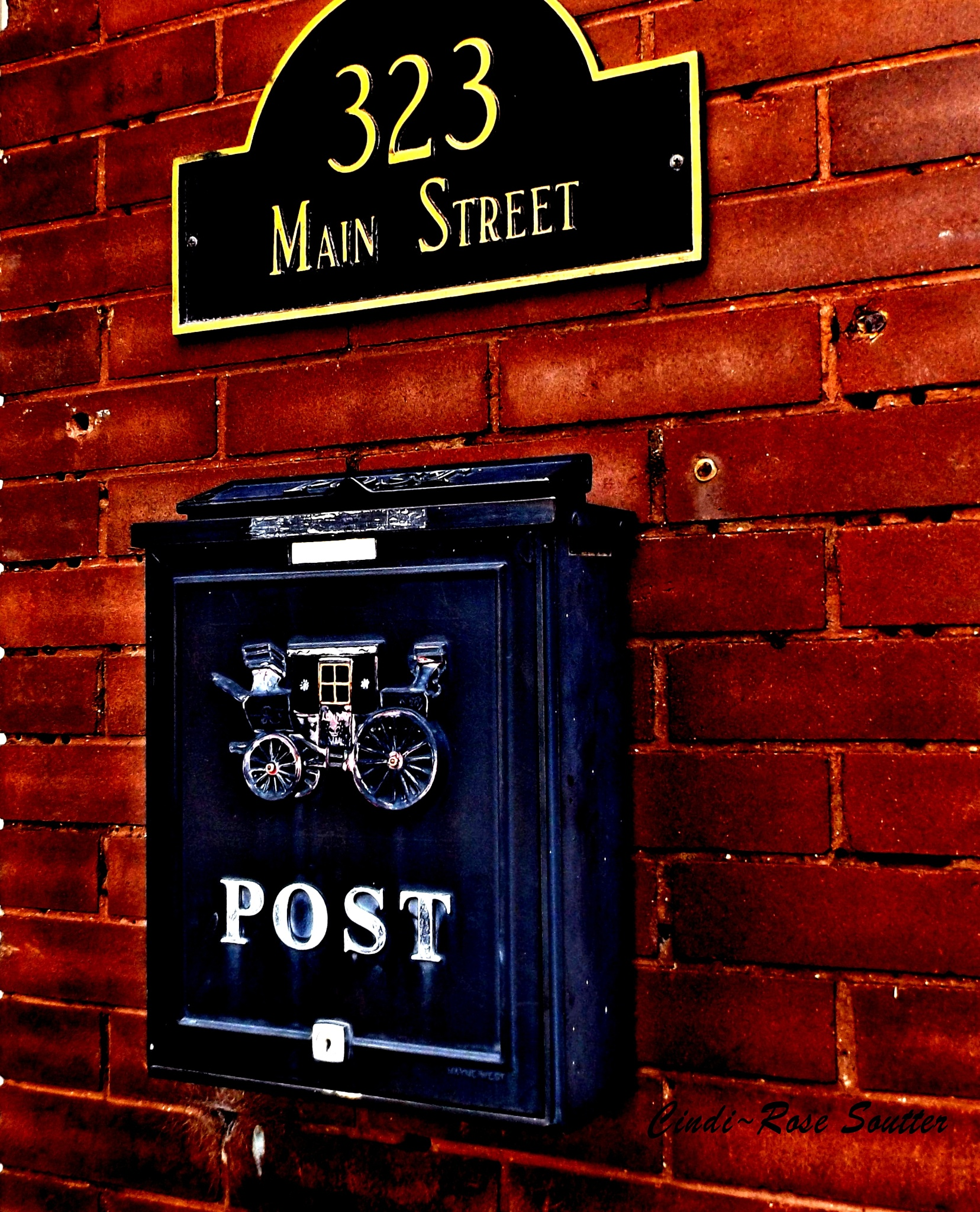 Old Mailbox by Cindi Rose Soutter
