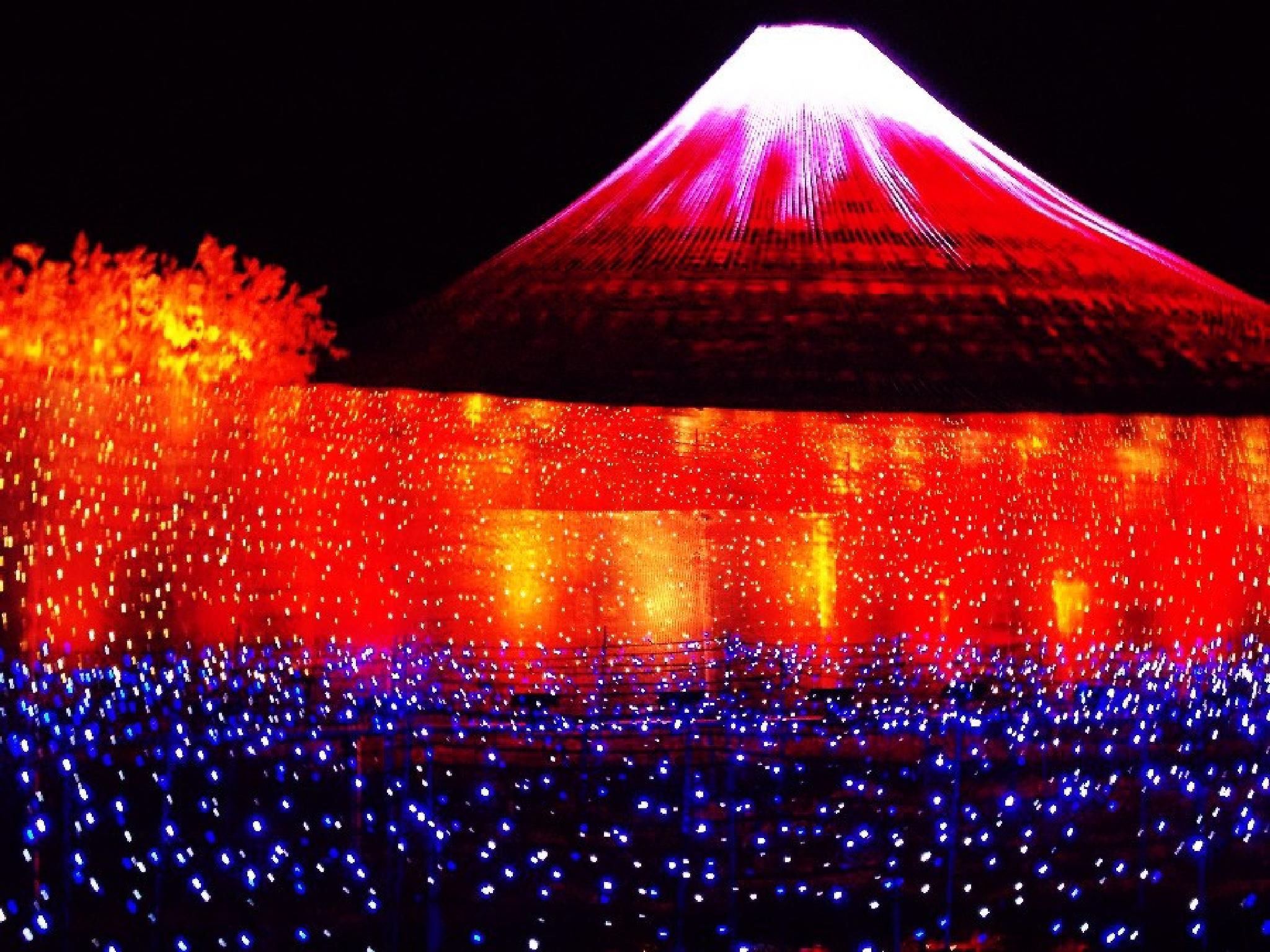 Mt. Fuji (Illumination) by jessy b